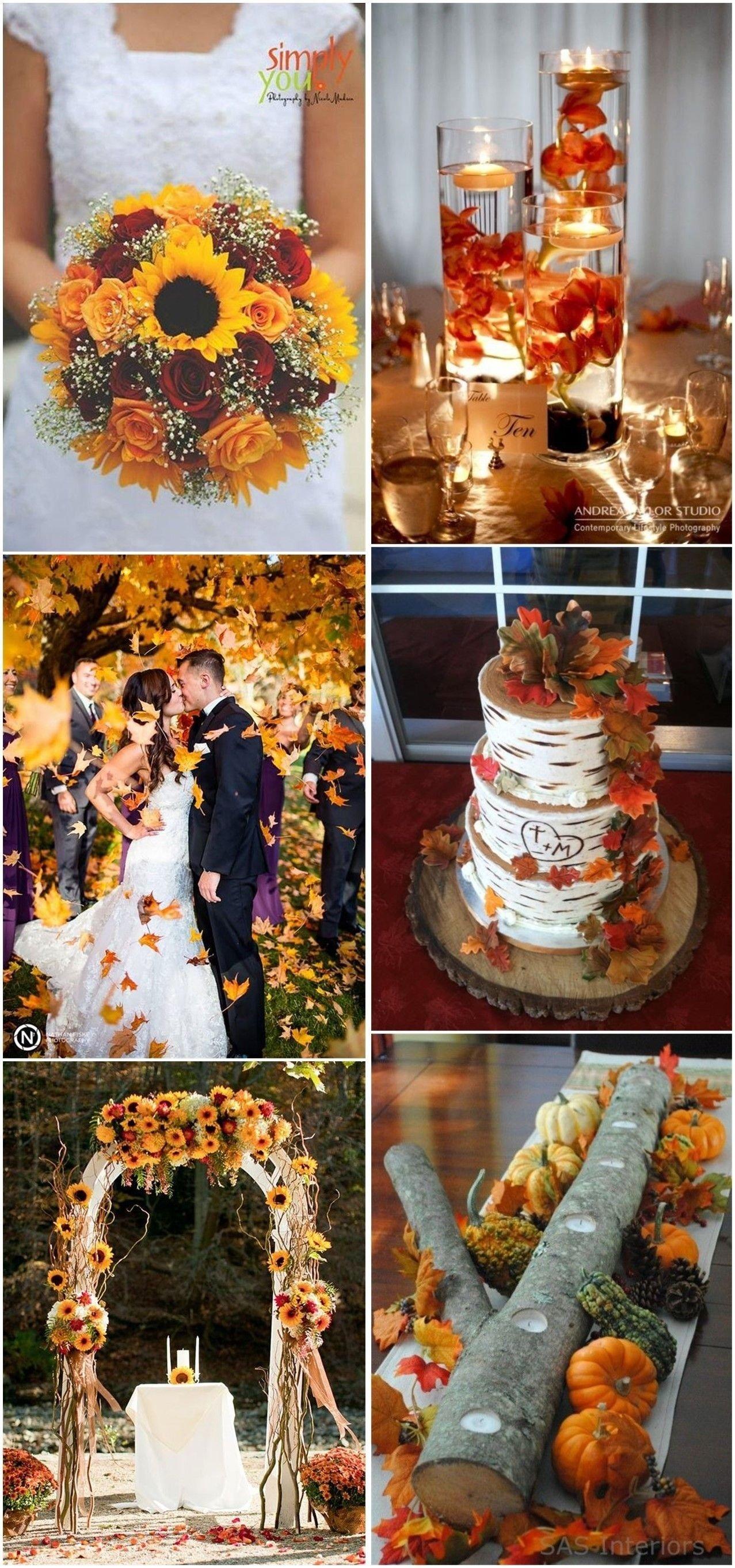 10 Wonderful Wedding Theme Ideas For Fall 23 best fall wedding ideas in 2018 weddings wedding and future 2020
