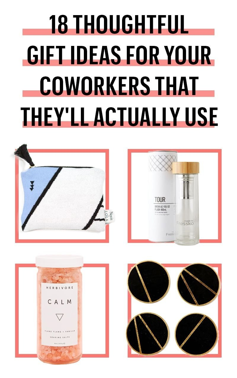 10 Great Creative Christmas Gift Exchange Ideas 23 best gifts for coworkers 2017 great christmas gifts to give at work 1 2021