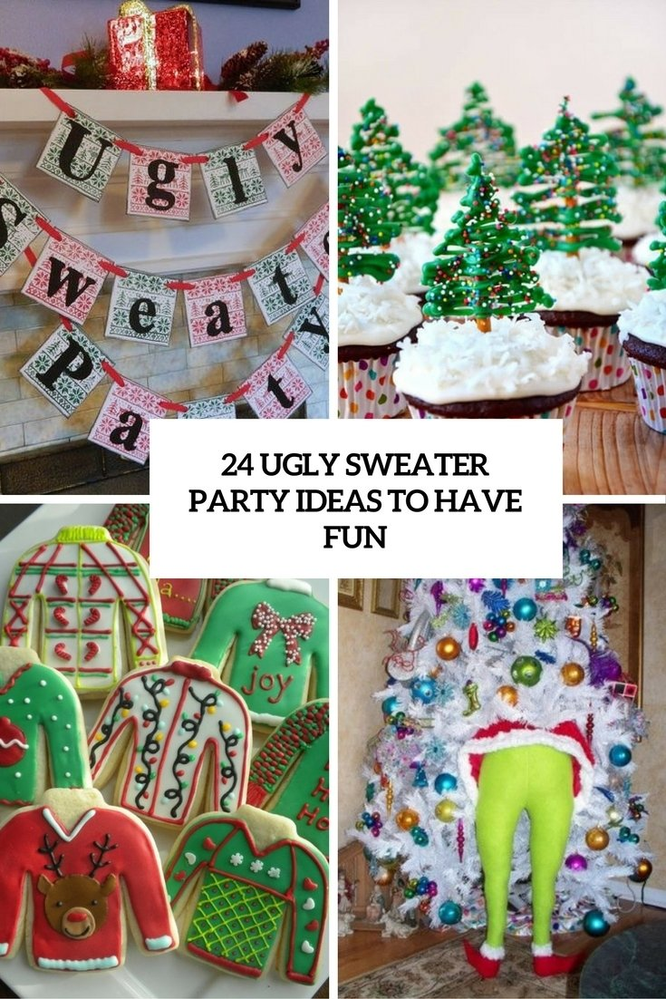 10 Stunning Ideas For Ugly Sweater Party 23 ugly sweater party ideas to have fun shelterness 1 2020