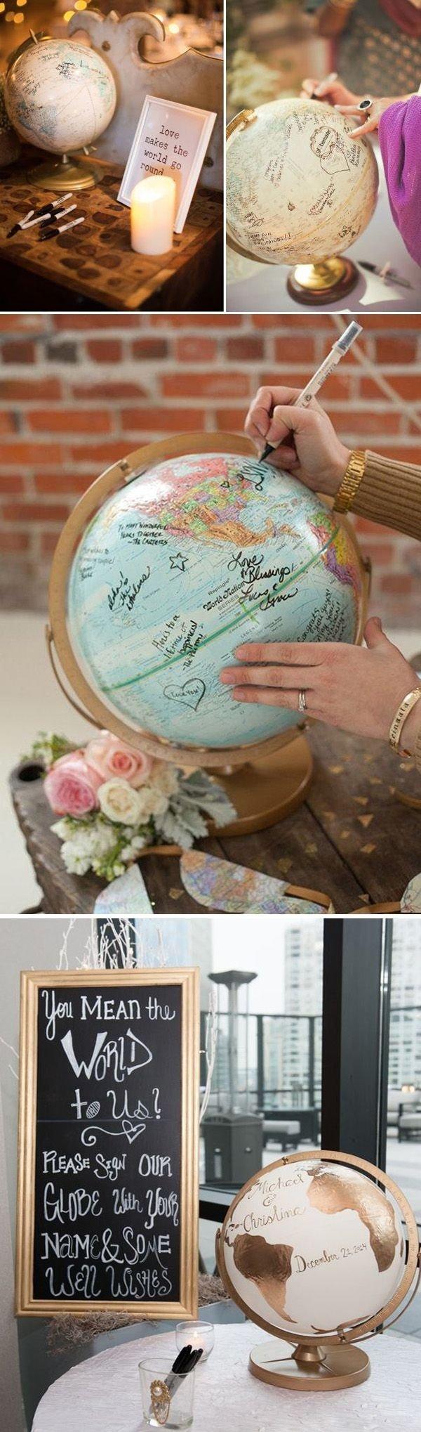 23 unique wedding guest book ideas for your big day | unique