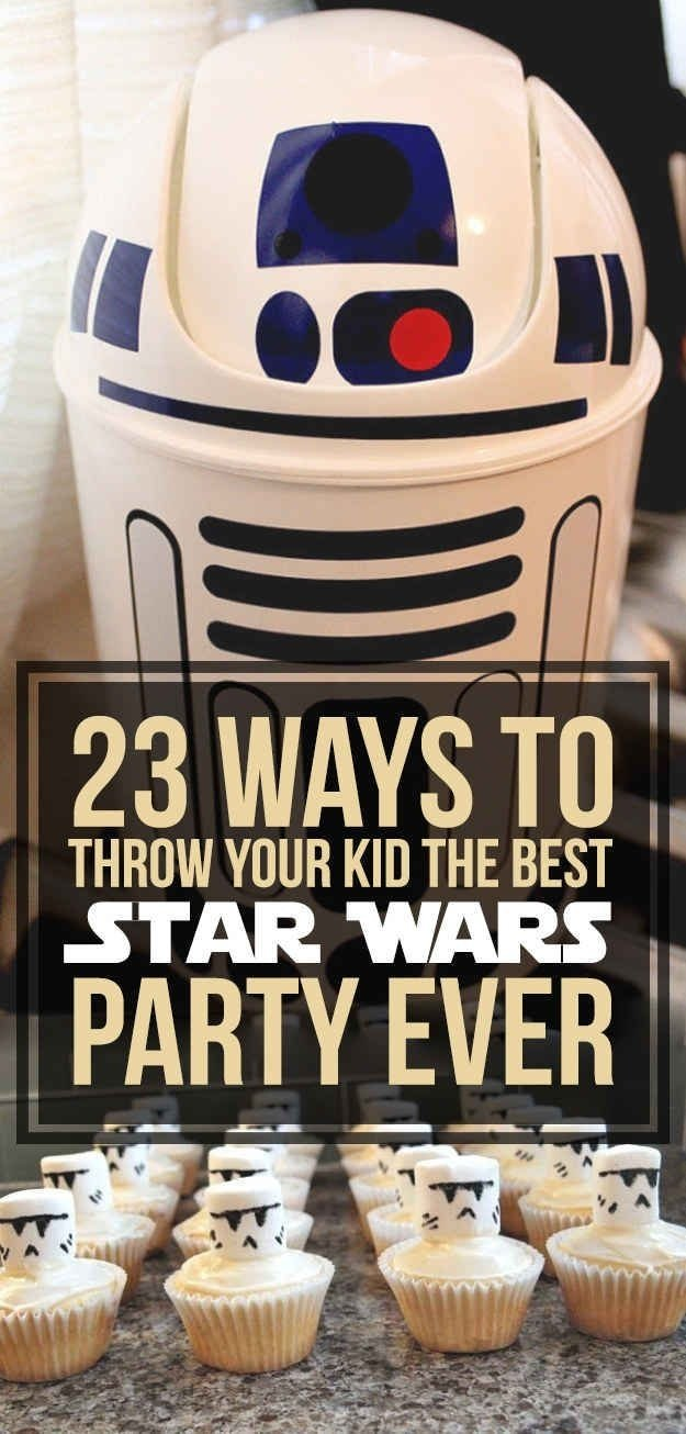 10 Unique Star Wars Party Food Ideas 23 ways to throw the best star wars birthday party ever star wars 2020