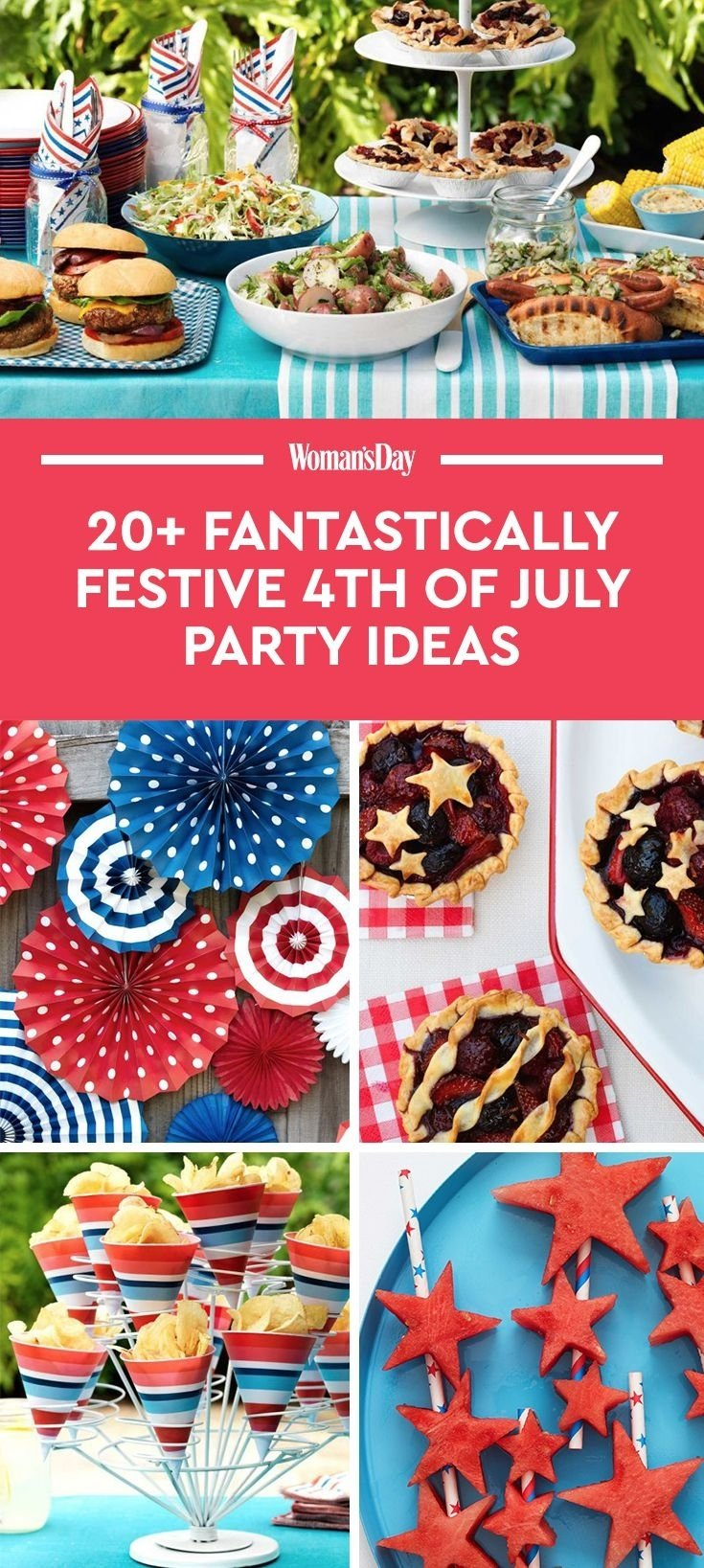 10 Gorgeous Ideas For 4Th Of July Party 24 4th of july party ideas food decor for a fourth of july cookout 6