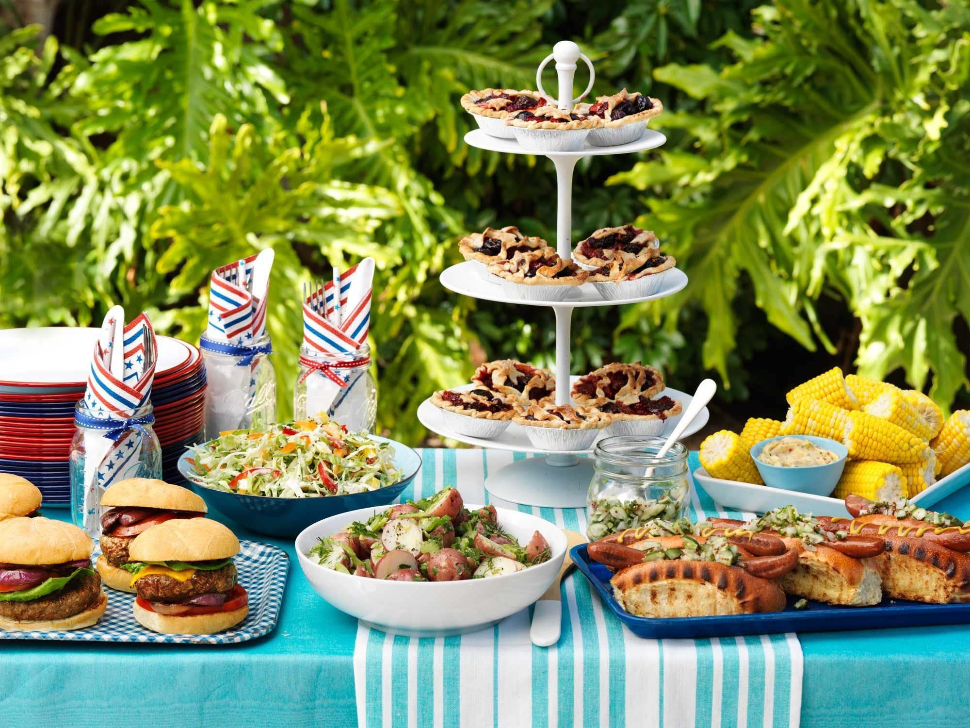 10 Unique 4Th Of July Cookout Ideas 24 4th of july party ideas food decor for a fourth of july cookout 9 2020