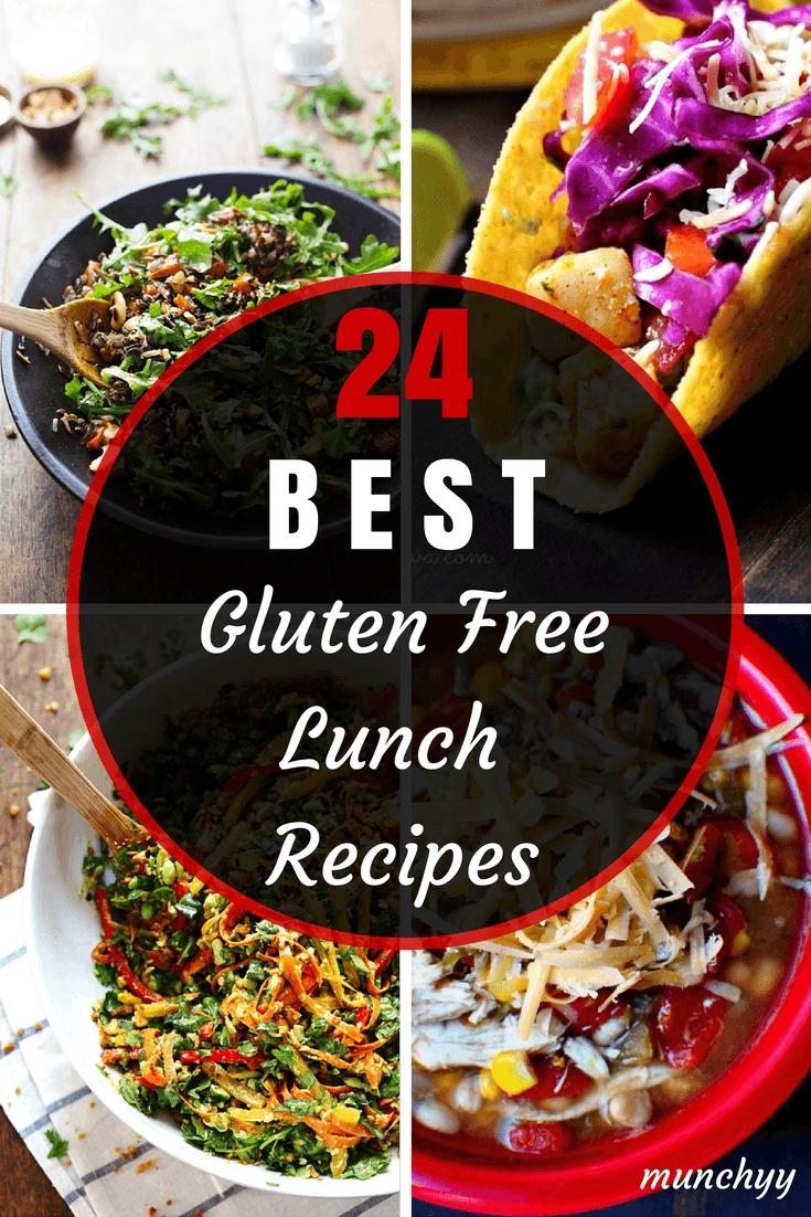24 best healthy gluten free lunch recipes