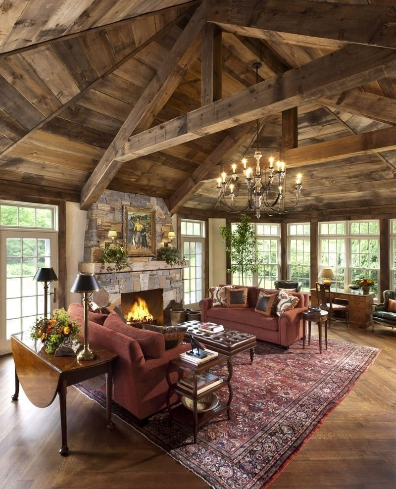 10 Lovable Rustic Decorating Ideas For Living Rooms 24 best rustic living room ideas rustic decor for living rooms 2021
