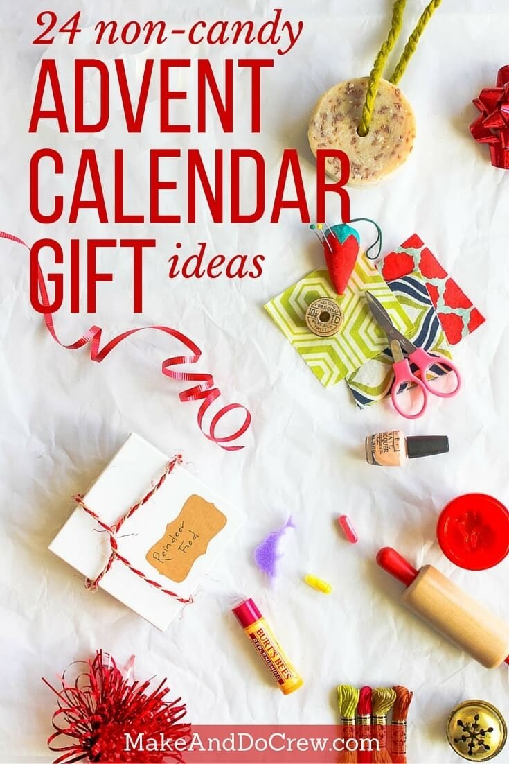 10 Trendy Ideas For Advent Calendar Gifts 24 christmas advent calendar gift ideas that arent candy