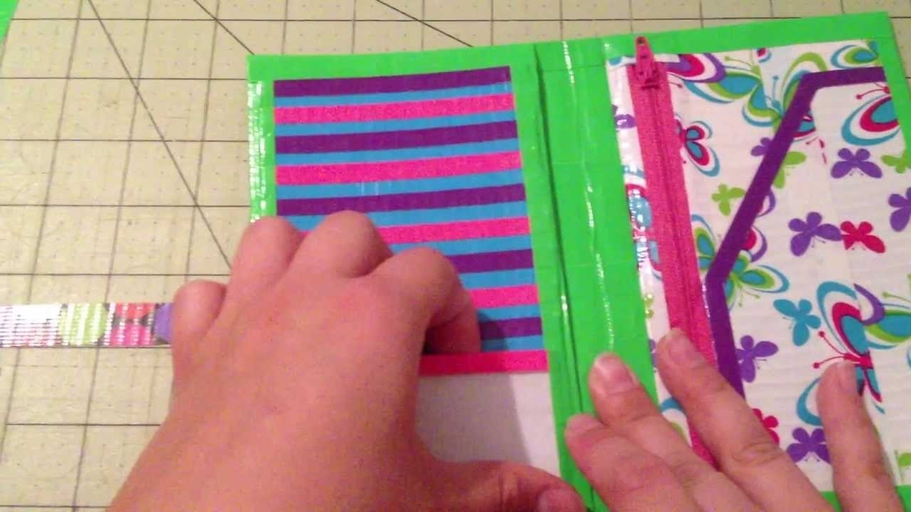 10 Attractive Duct Tape Ideas For Girls 24 cool duct tape wallet diy instructions guide patterns 2020