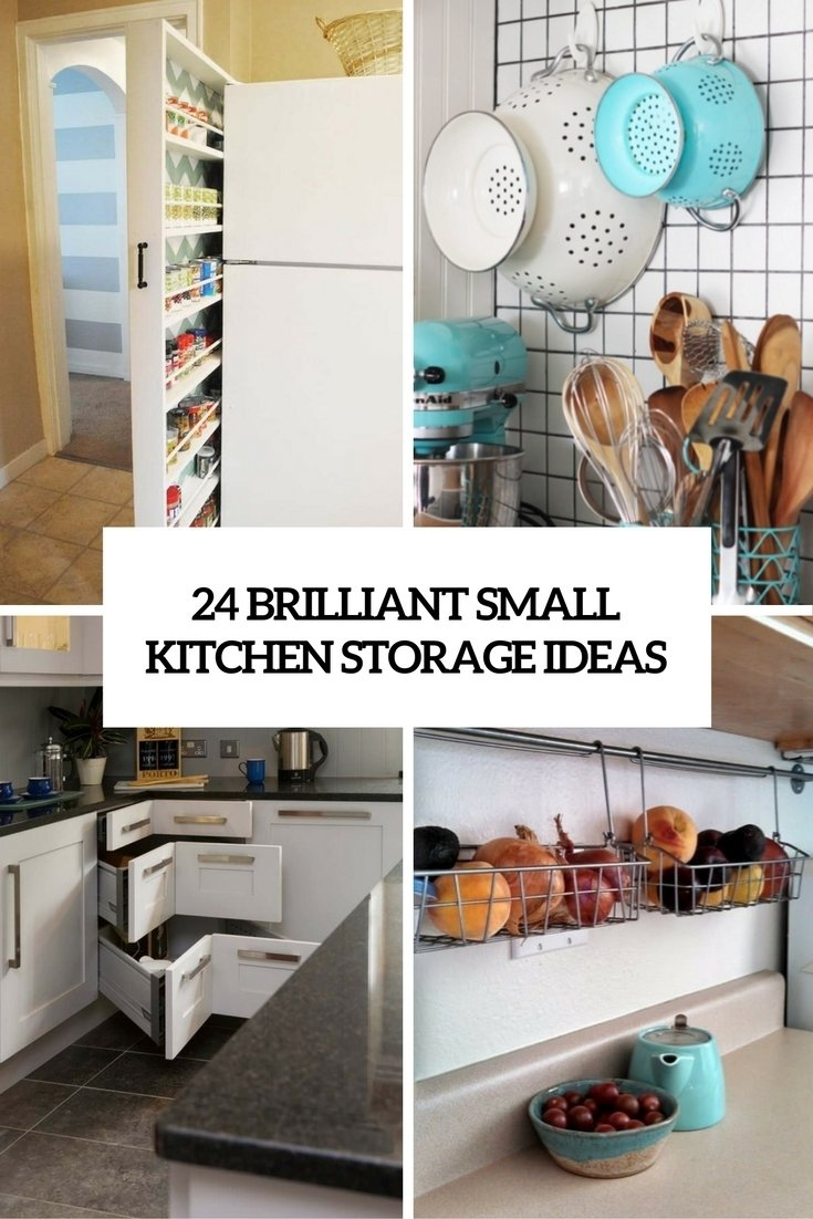 24 creative small kitchen storage ideas - shelterness