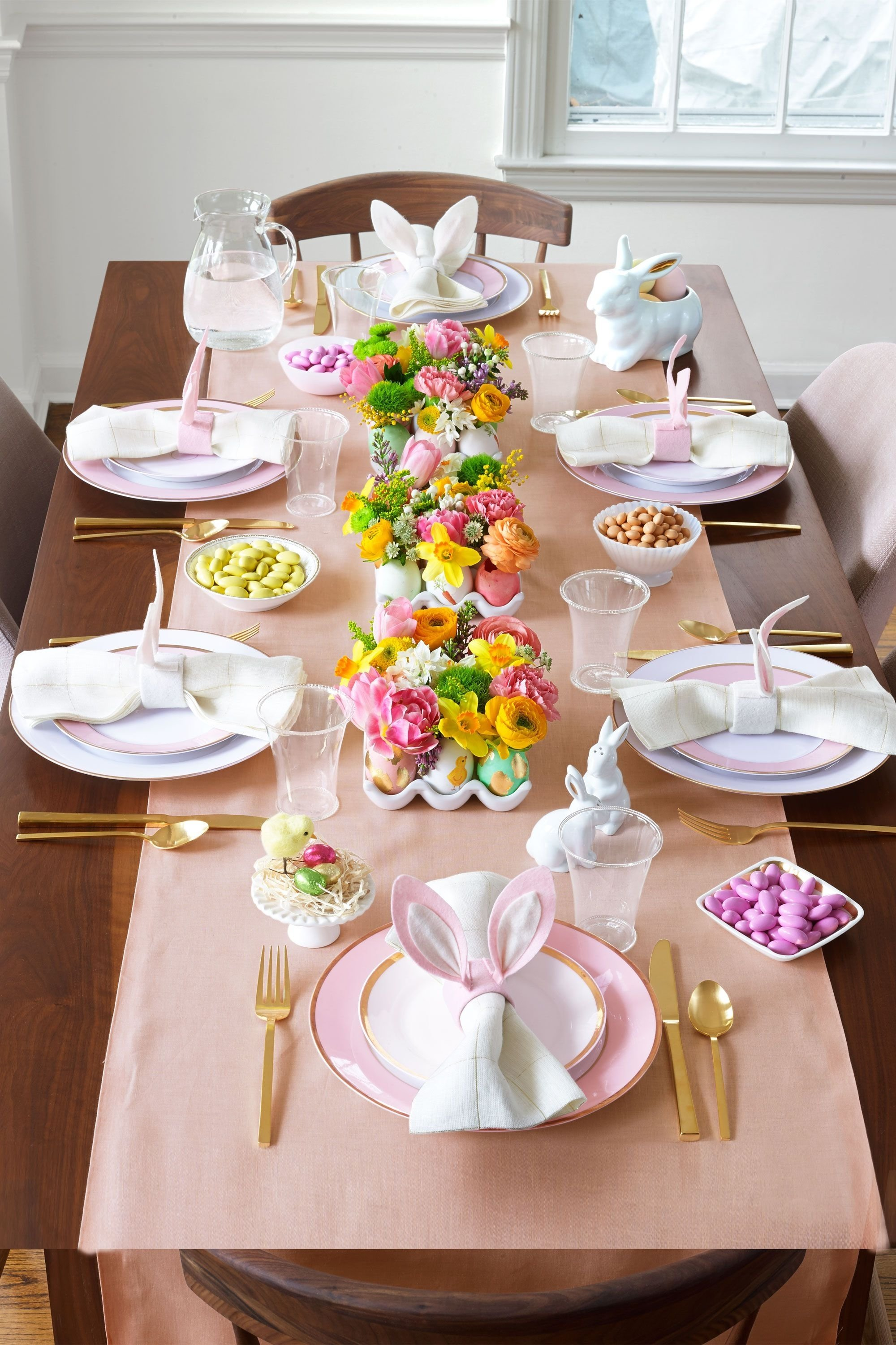10 Best Easter Decorating Ideas Table Setting 24 easter table decorations table decor ideas for easter brunch