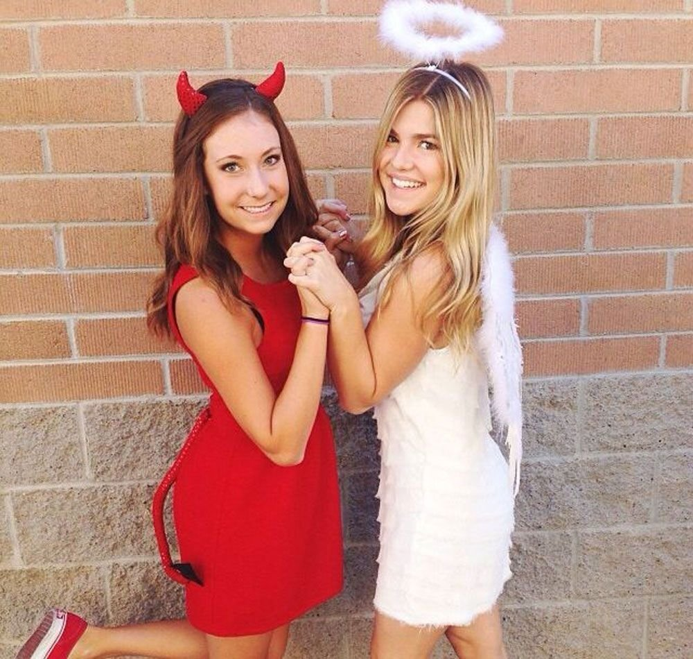 10 Lovely Costume Ideas For Two Women 24 genius bff halloween costume ideas you need to try friend 5 2020