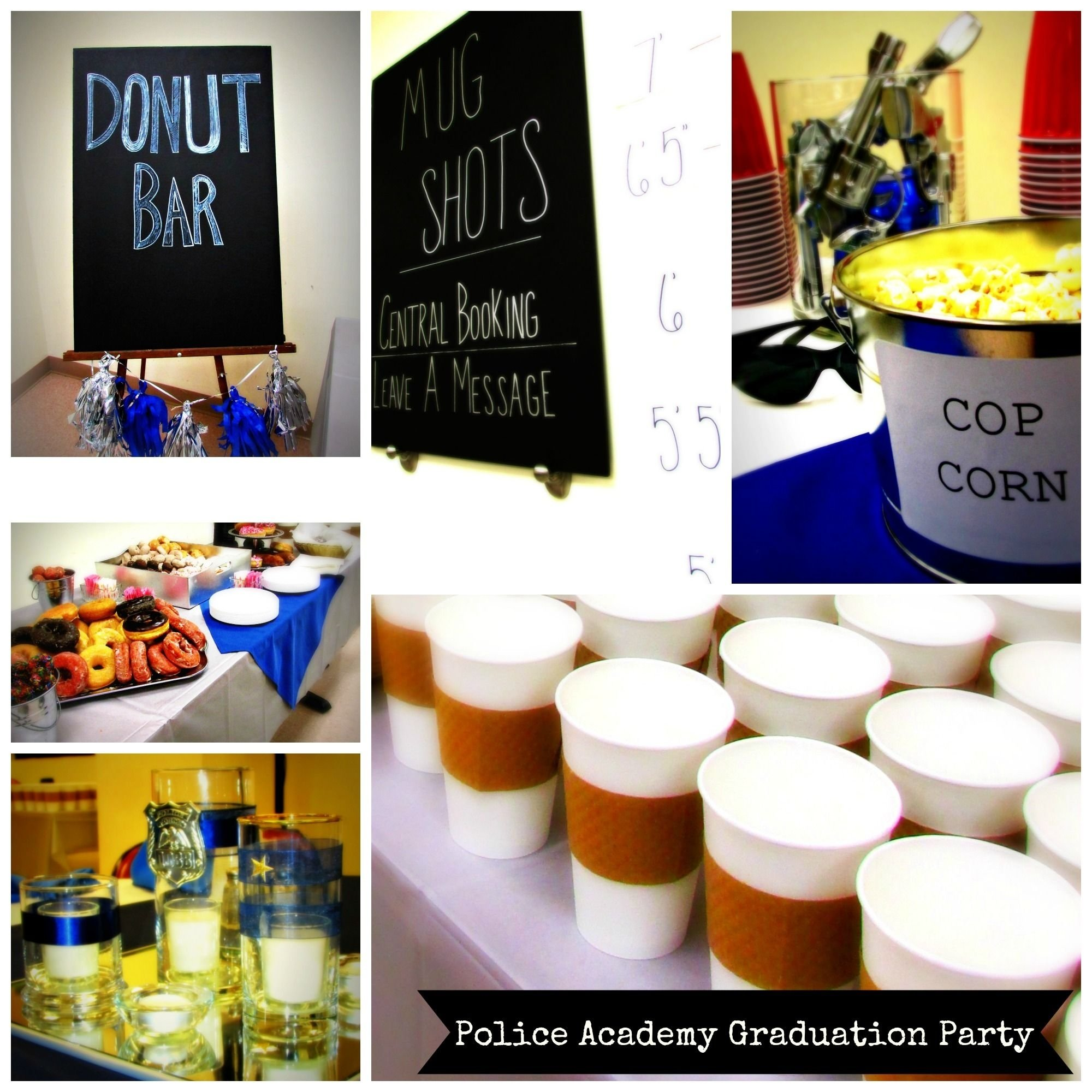 10 Beautiful Police Academy Graduation Party Ideas 24 hours and dollar store resources james police academy