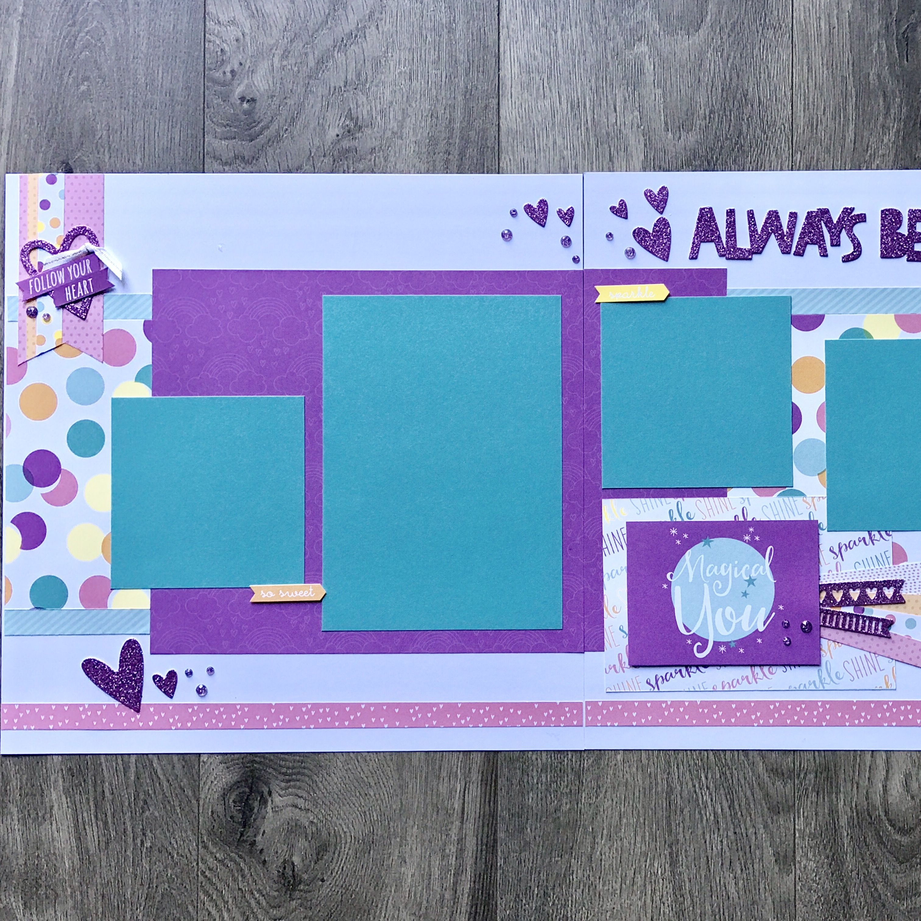 10 Fashionable 2 Page Scrapbook Layout Ideas 24 inspired photo of scrapbooking layouts ideas 2 page 2021