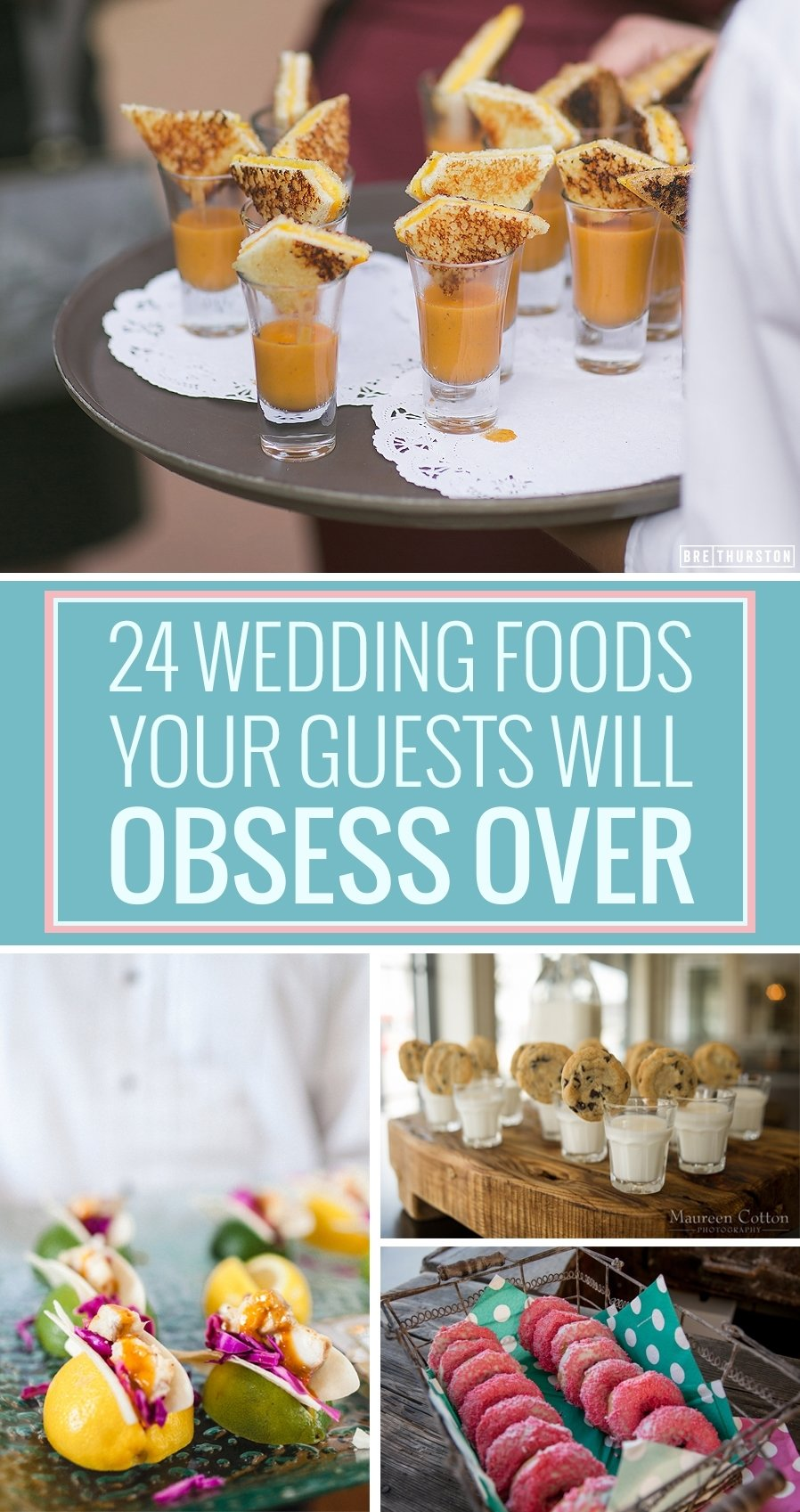10 Nice Food Ideas For A Wedding 24 unconventional wedding foods your guests will obsess over huffpost 2021