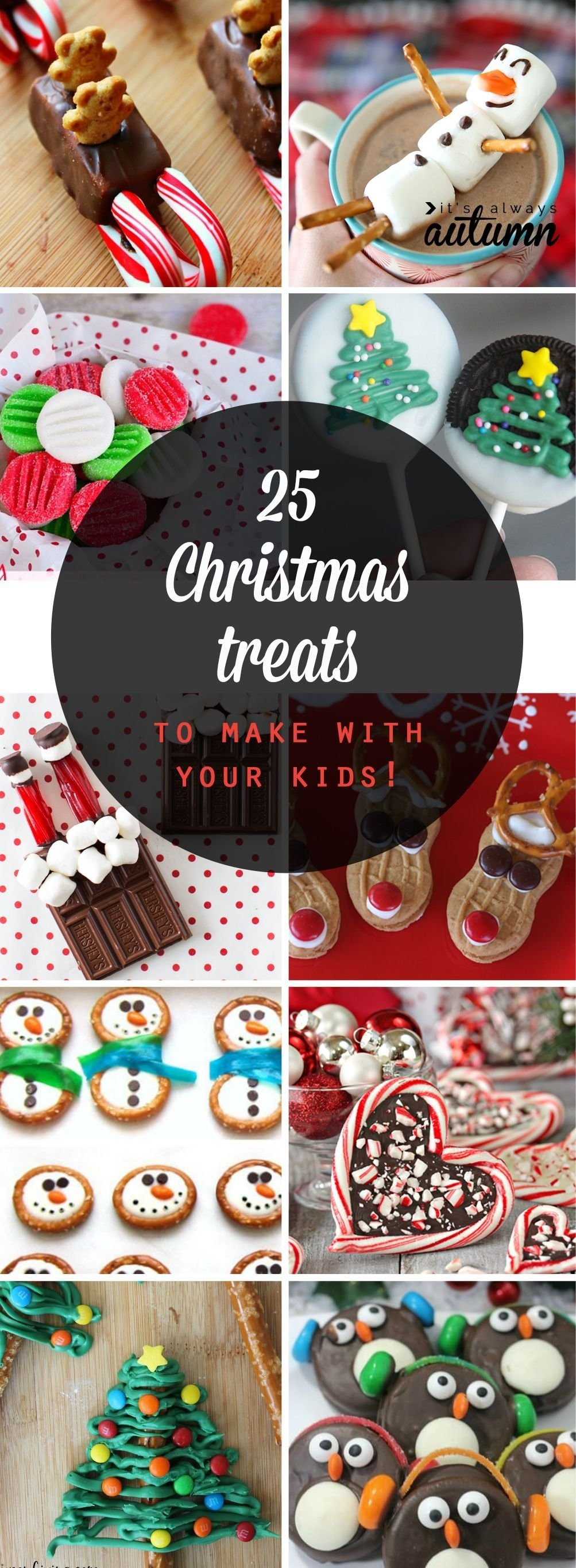 10 Unique Christmas Dessert Ideas For Kids 25 adorable christmas treats to make with your kids holiday candy 2020