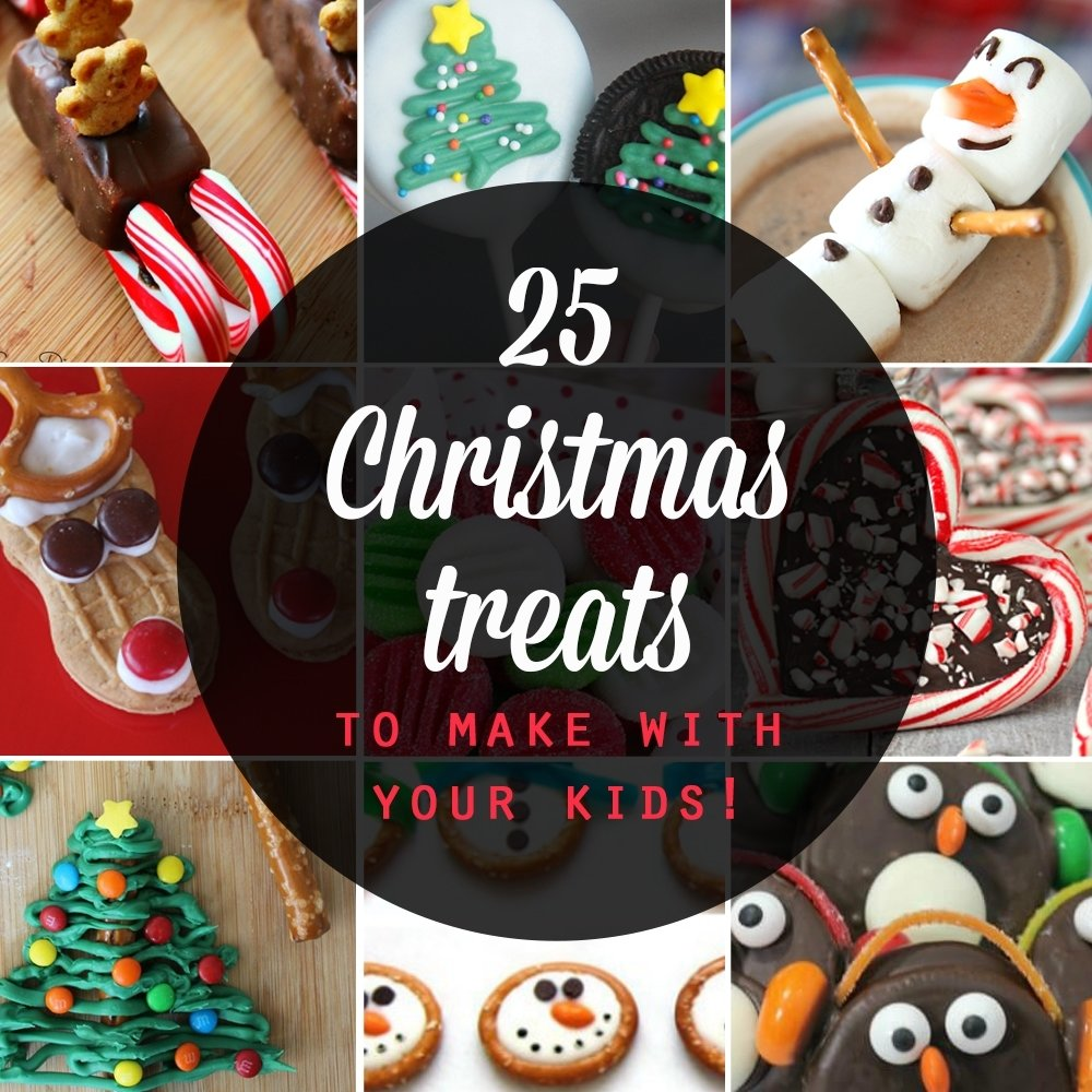 10 Unique Christmas Dessert Ideas For Kids 25 adorable christmas treats to make with your kids its always autumn 2 2020