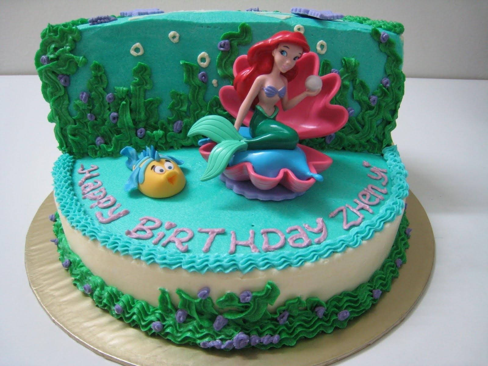 10 Great Little Mermaid Birthday Cake Ideas %name 2021