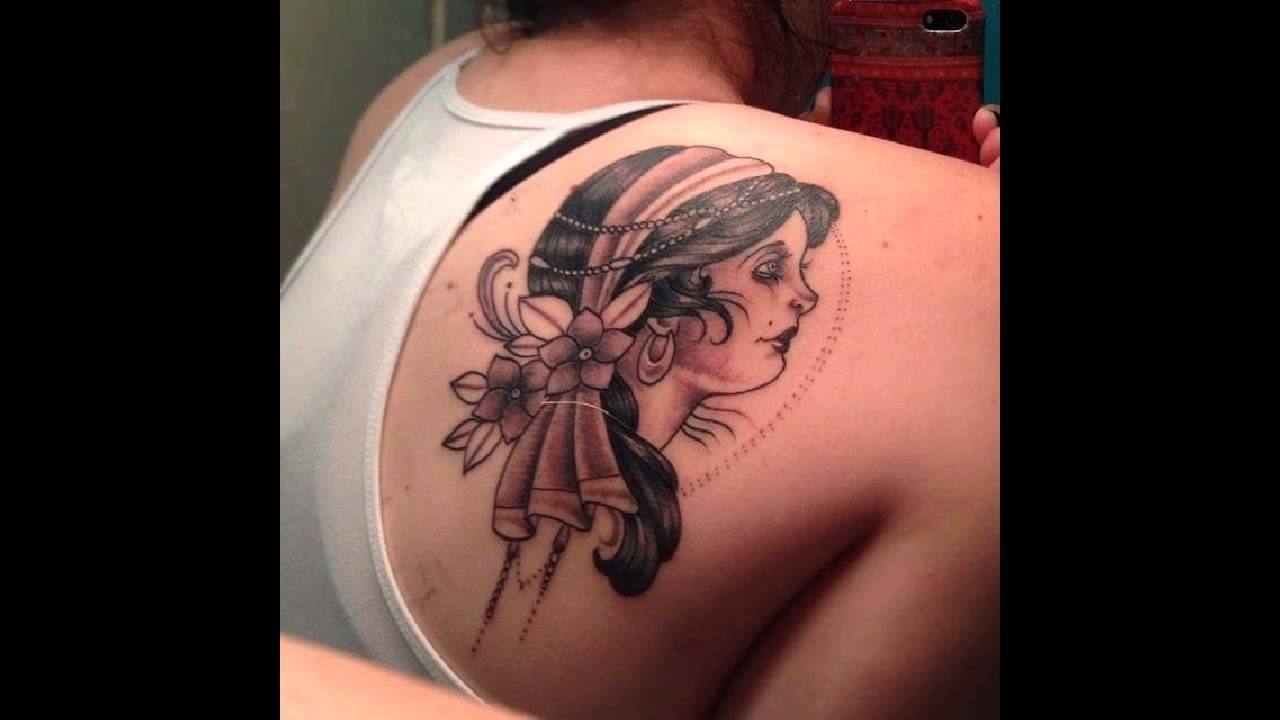 10 Attractive Tattoo Ideas For Shoulder Blade 25 awesome shoulder blade tattoo designs youtube