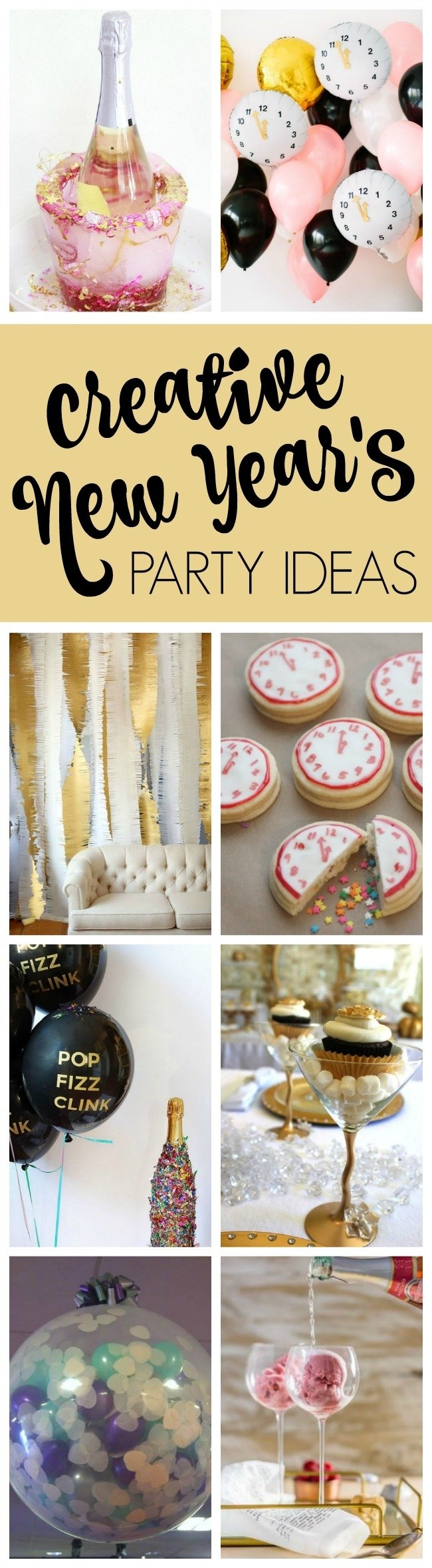 10 Attractive Ideas For New Years Eve Parties 25 best ever new years eve party ideas pretty my party 1 2020