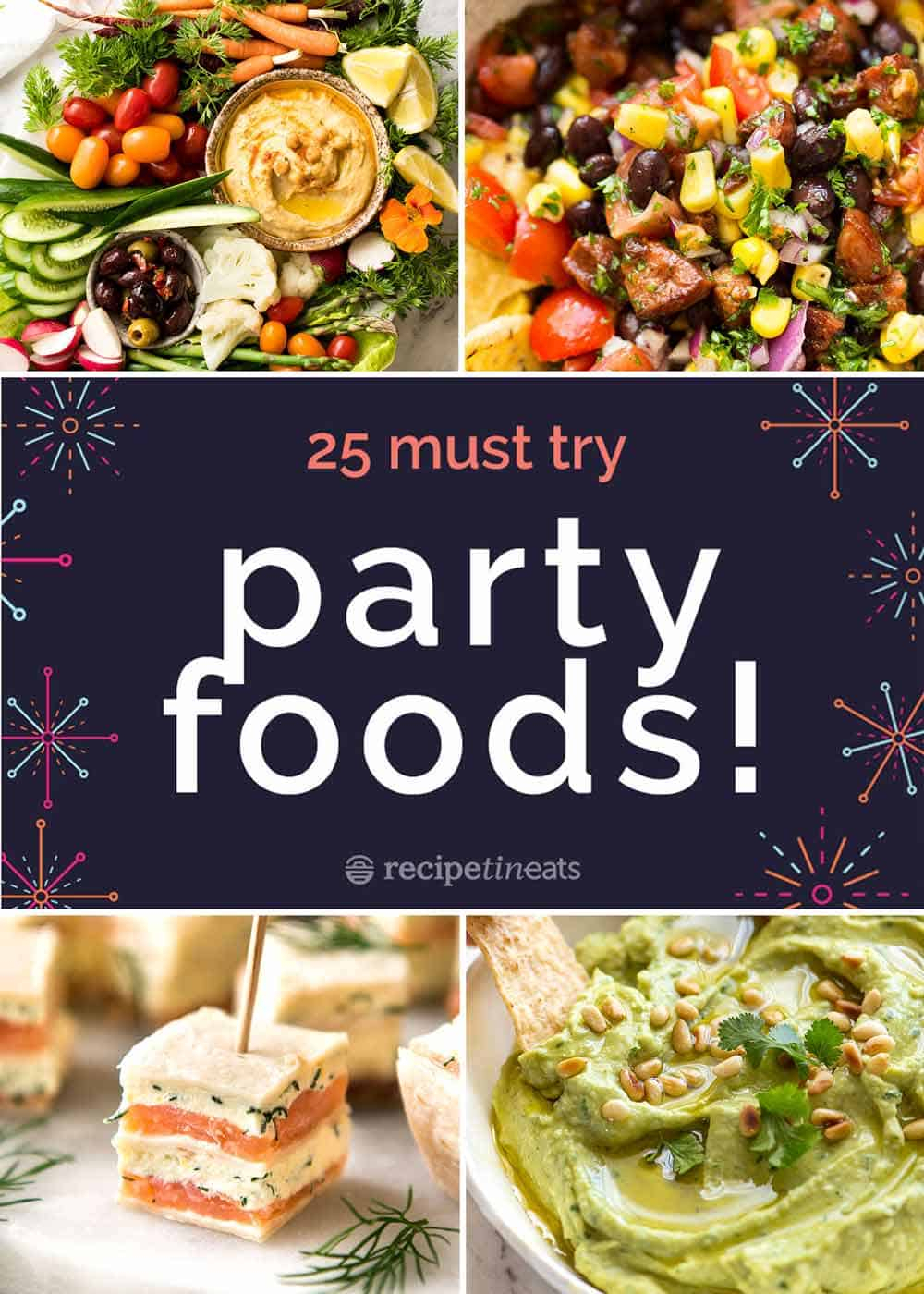 10 Fabulous Lunch Menu Ideas For Friends 25 best party food recipes recipetin eats 2020