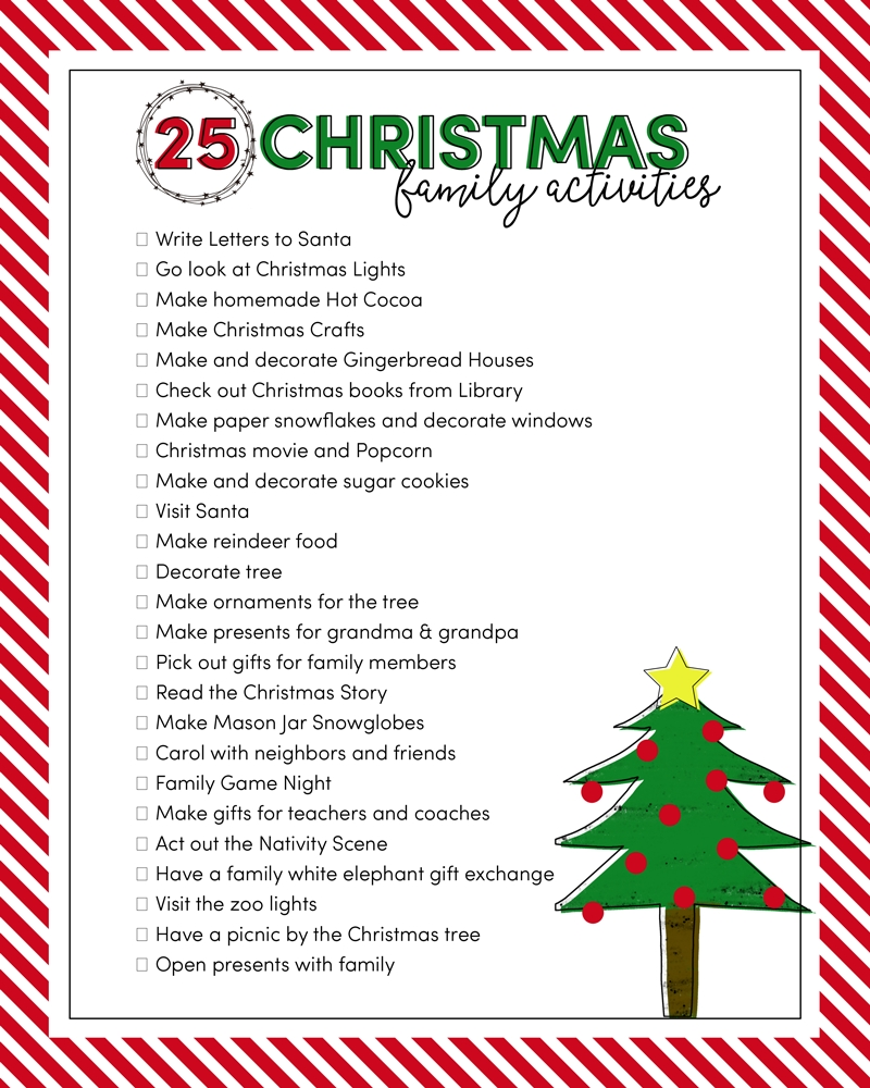 10 Stylish Christmas Game Ideas For Families 25 christmas family activities lil luna 2020