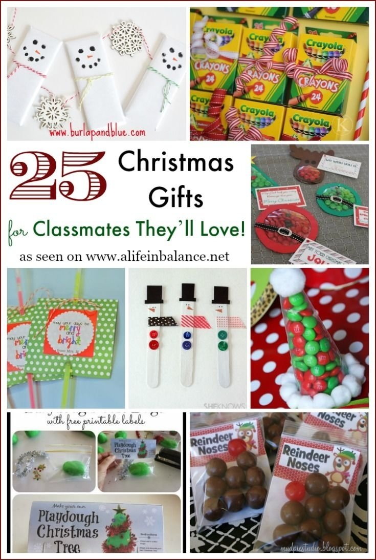 25 christmas gifts for classmates they'll love! | christmas gifts