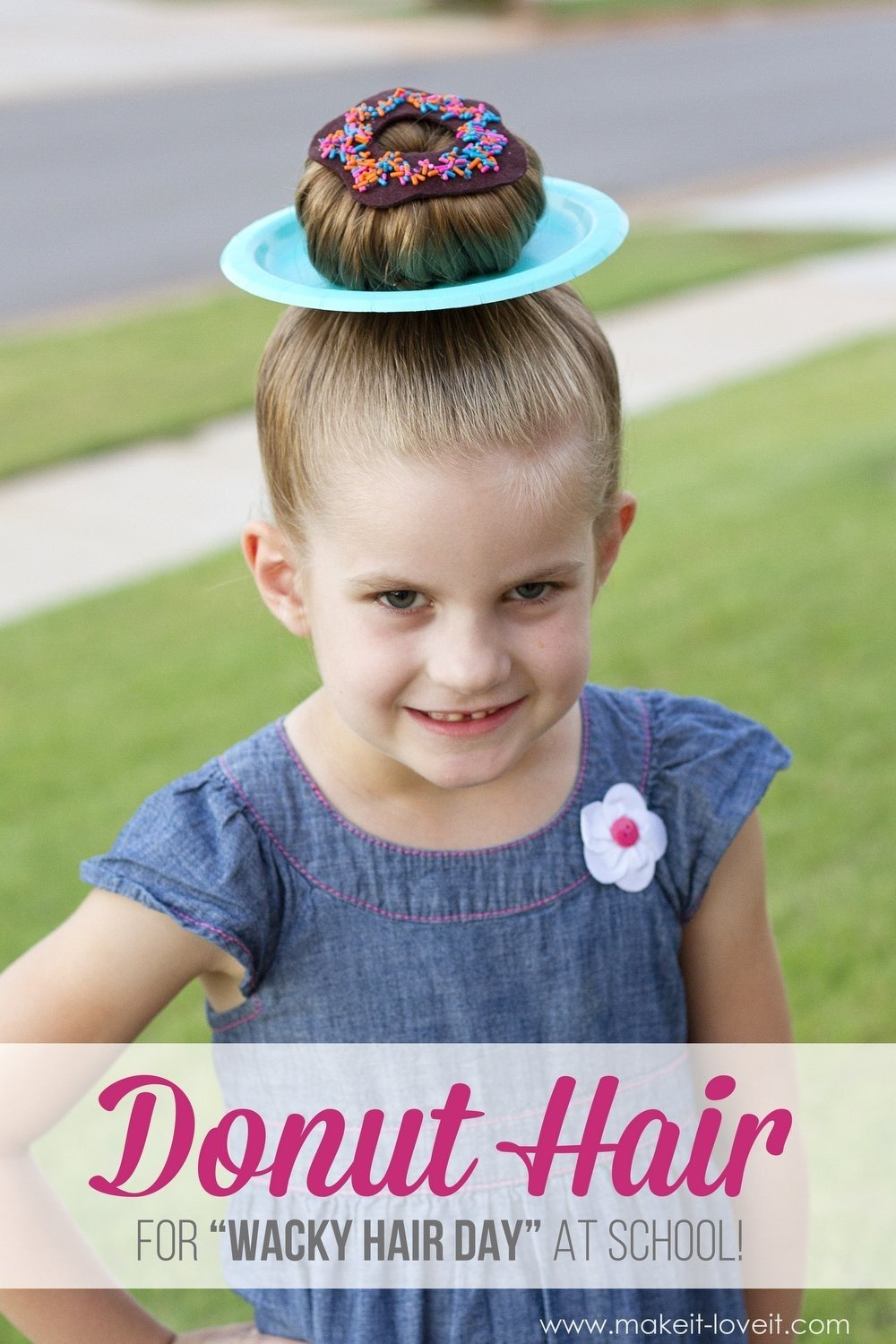 10 Most Recommended Crazy Hair Ideas For School 25 clever ideas for wacky hair day at school including 18