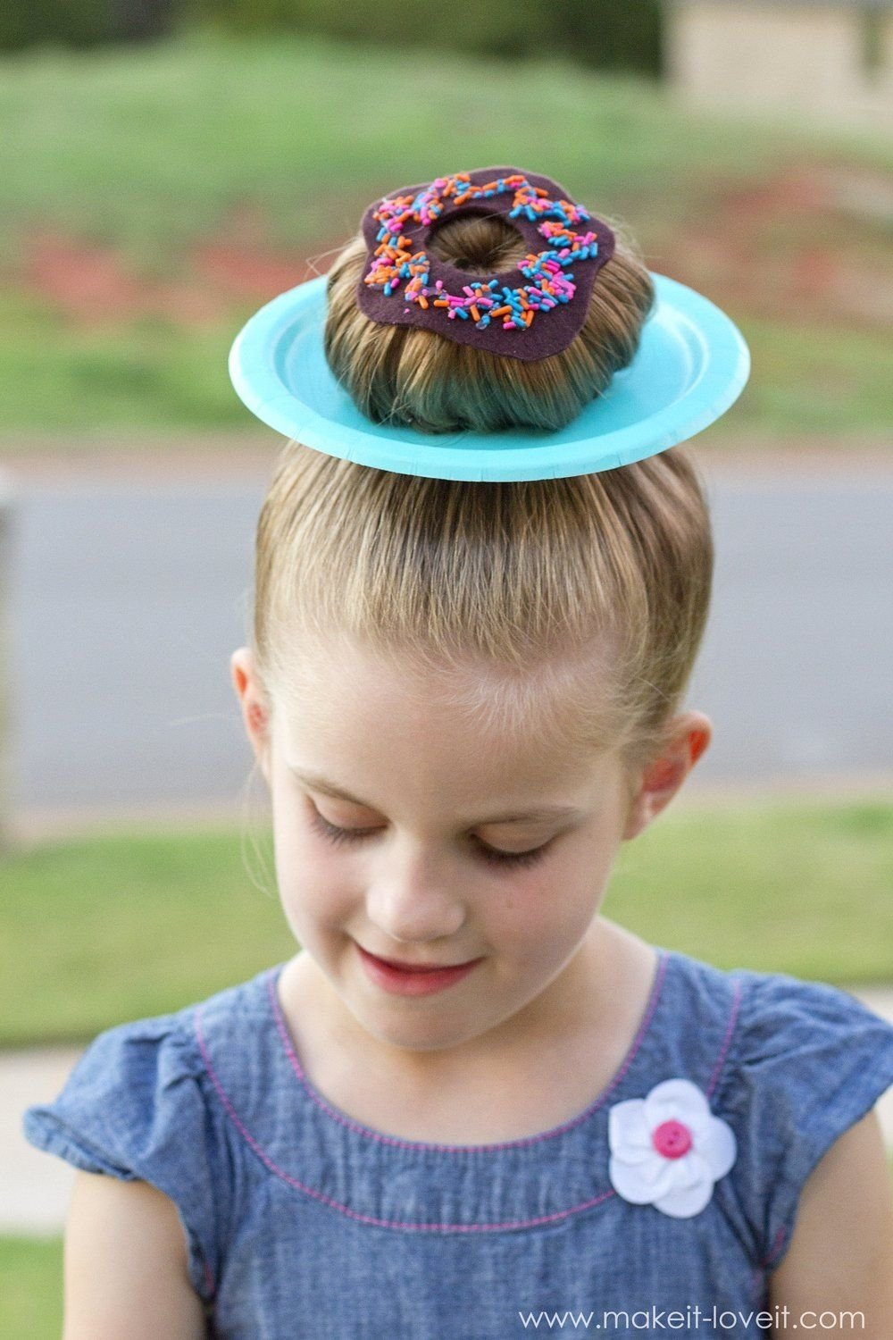 """25 clever ideas for """"wacky hair day"""" at school!! (including"""