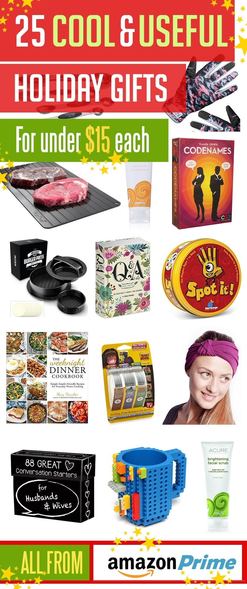 10 Ideal Amazon Gift Ideas For Her 25 cool useful christmas gift ideas from amazon prime for under 15 2 2020