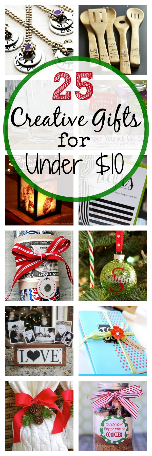 25 creative christmas gift ideas that cost under $10 - crazy little