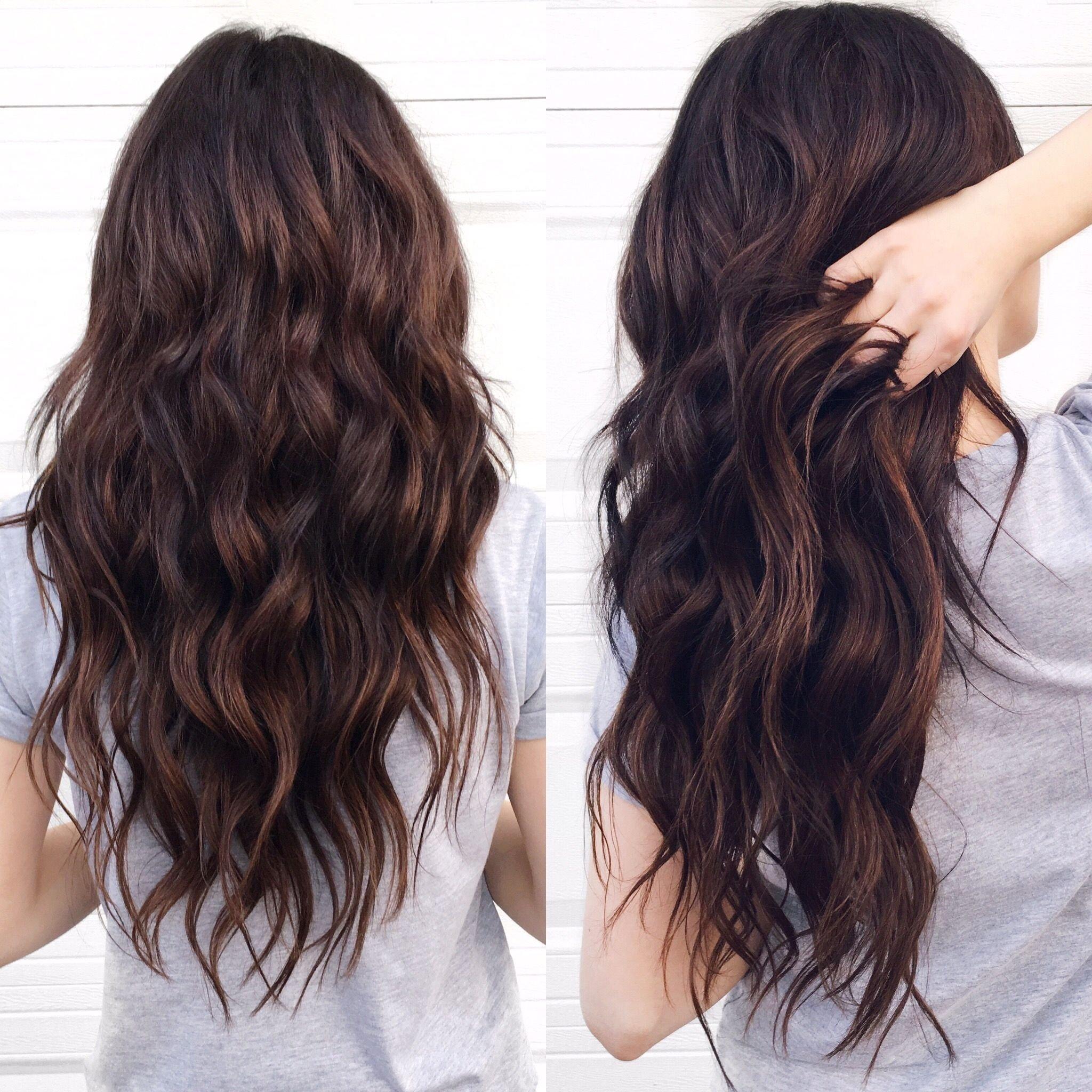 10 Attractive Dark Brown Hair Color Ideas