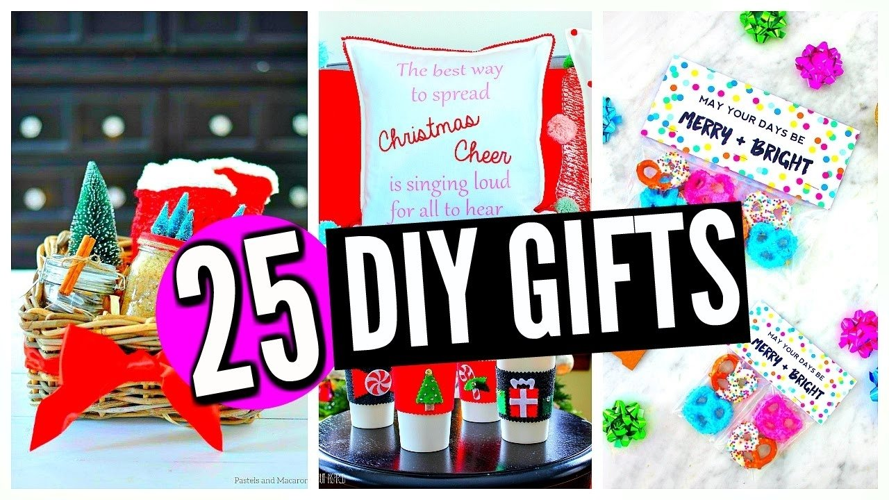10 Famous Good Christmas Ideas For Mom 25 diy christmas gifts for friends family boyfriend mom dad 9 2020