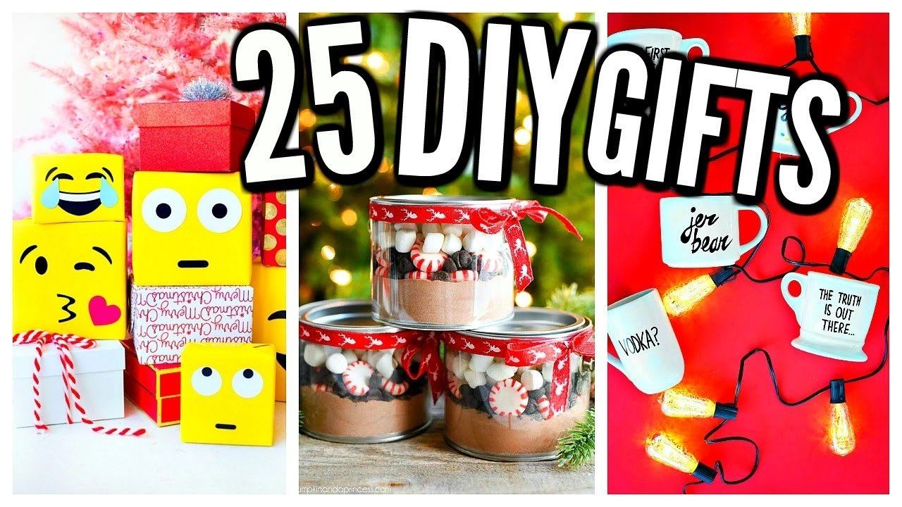 10 Great Homemade Christmas Gift Ideas For Coworkers 25 diy christmas gifts homemade gift ideas youtube 1 2021