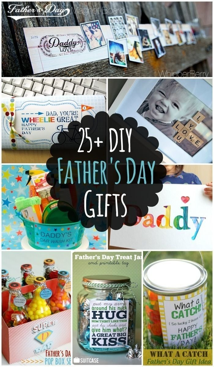 25 diy fathers day gift ideas - lots of different diy ideas that dad