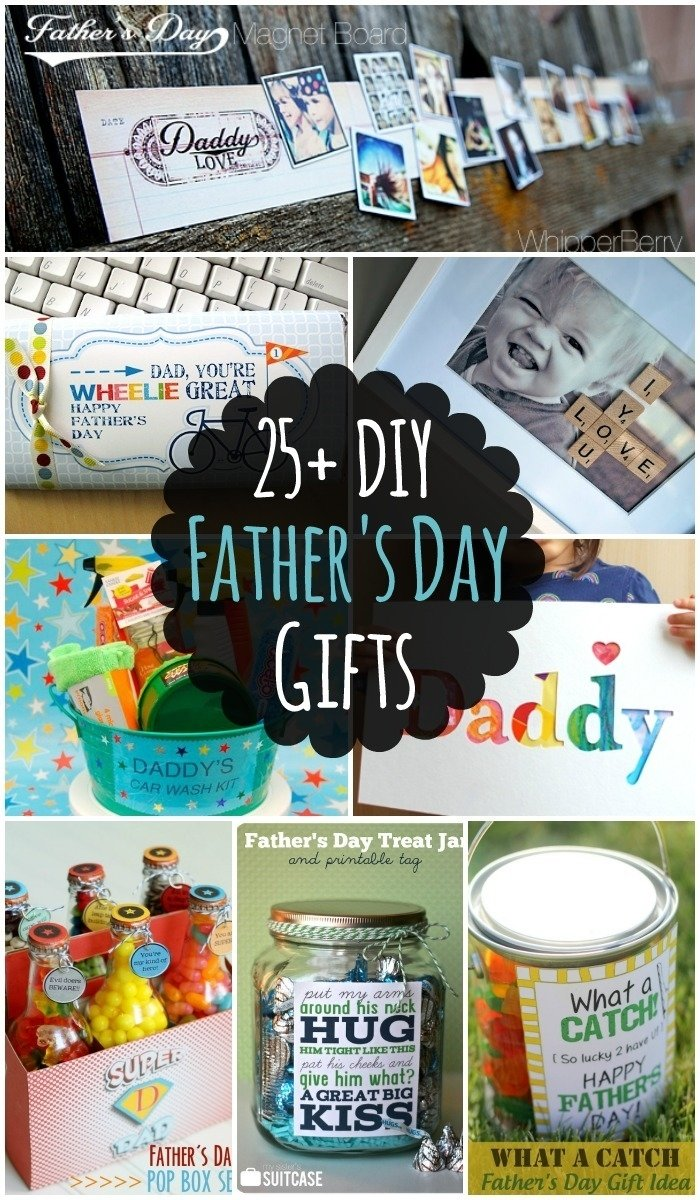 10 Unique Birthday Present Ideas For Dad 25 Diy Fathers Day Gift Lots Of Different