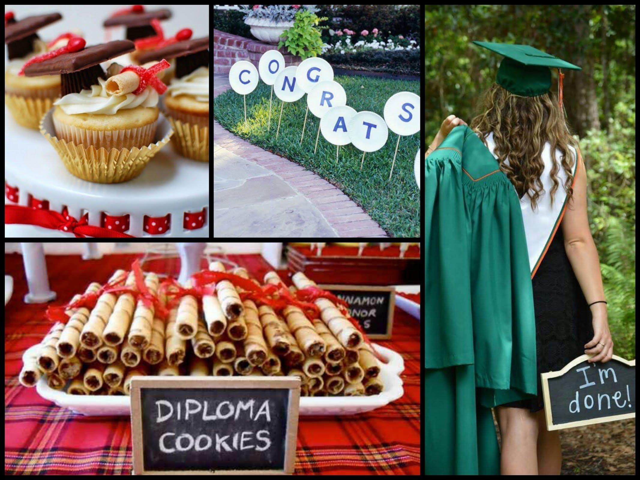 10 Attractive High School Graduation Party Menu Ideas 25 diy graduation party ideas youtube 4 2020