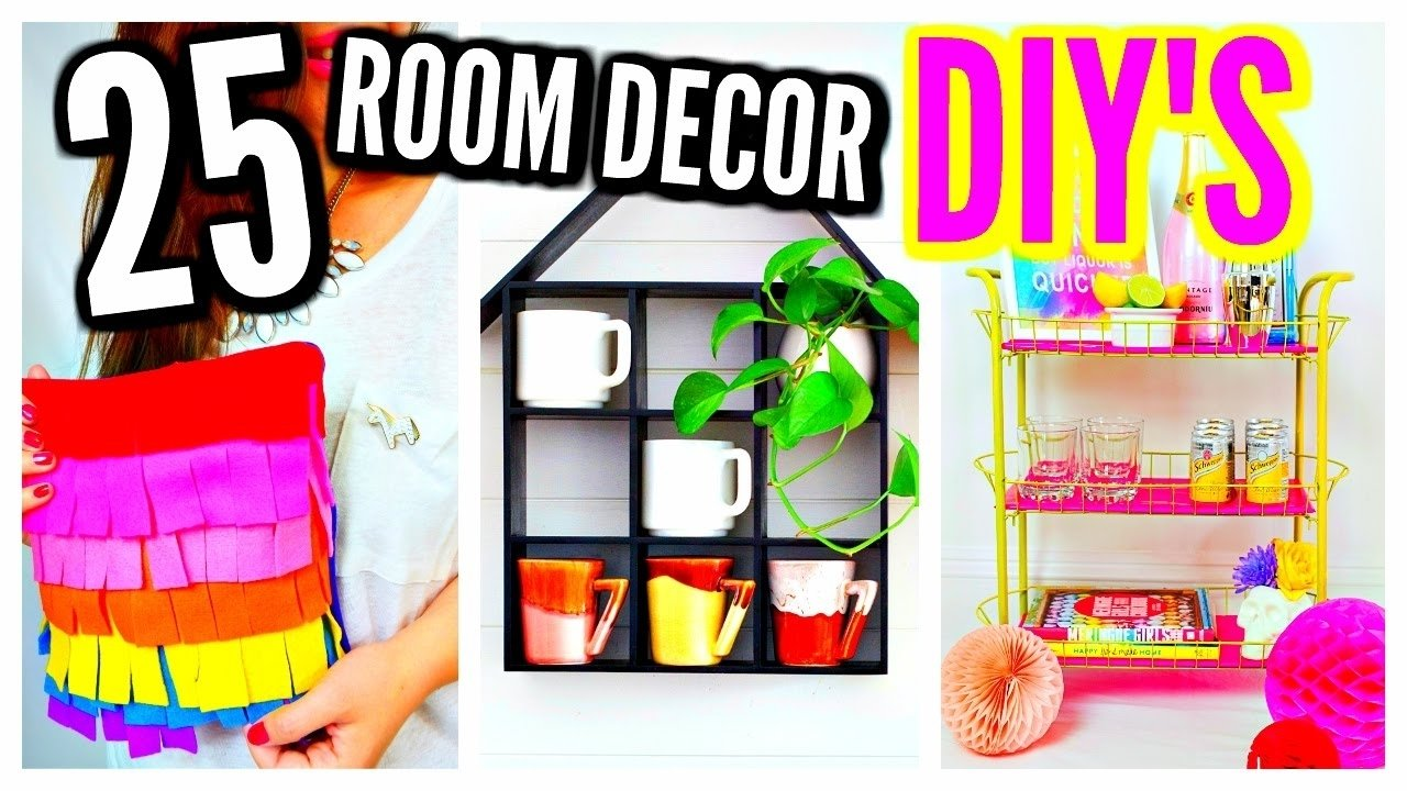 10 Great Room Decorating Ideas For Girls 25 diy room decor ideas projects for teenagers girls kids youtube 2020