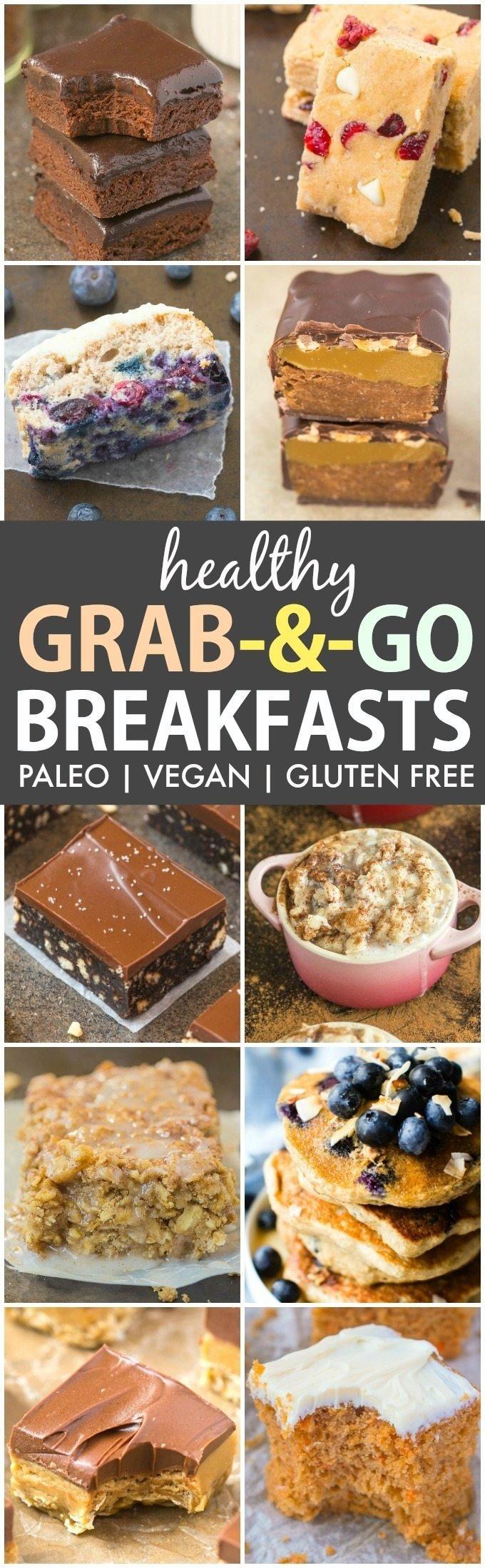 10 Stunning Paleo Breakfast Ideas On The Go 25 easy and healthy grab and go breakfast ideas paleo vegan 2020