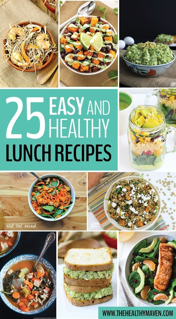 10 Fabulous Quick And Healthy Lunch Ideas For Work 25 easy and healthy lunch recipes 1 2020