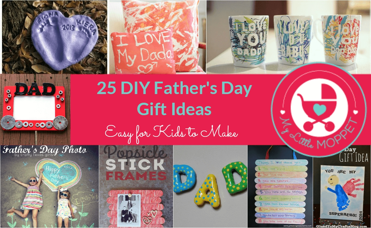 10 Most Popular Gift Ideas For Kids To Make 25 easy diy fathers day gift ideas 2 2021
