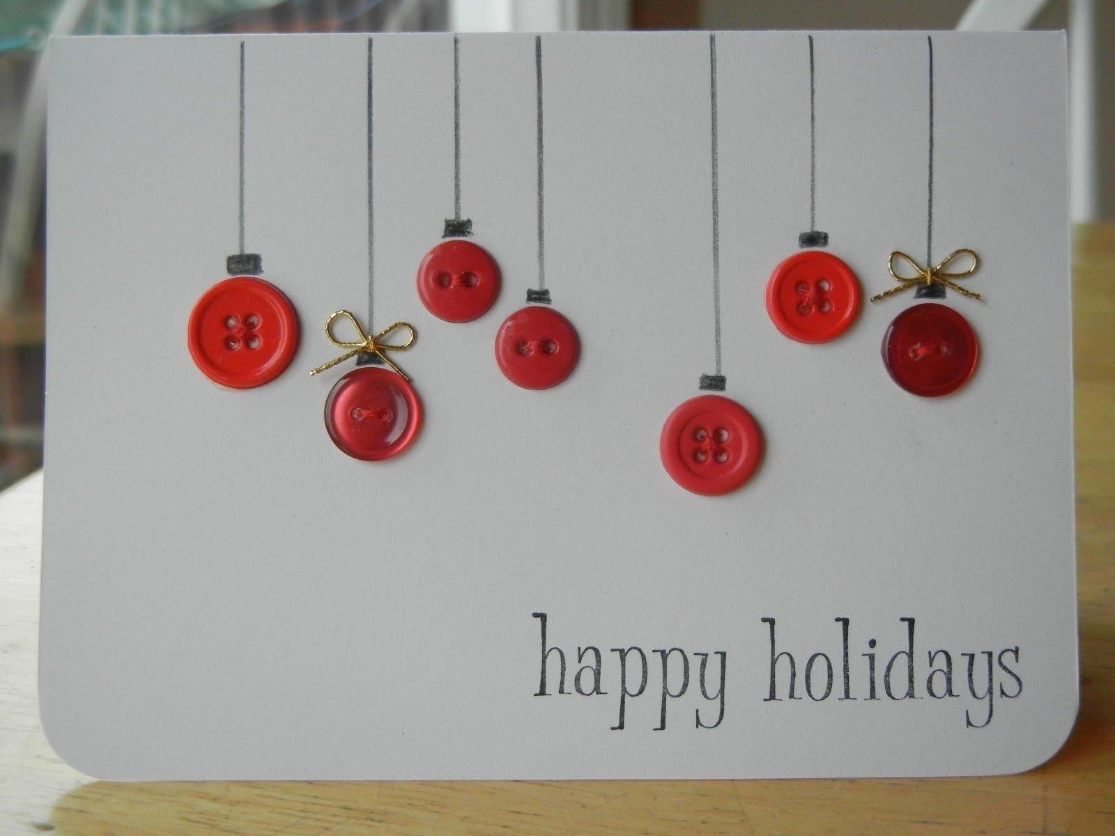 10 Trendy Christmas Card Ideas To Make