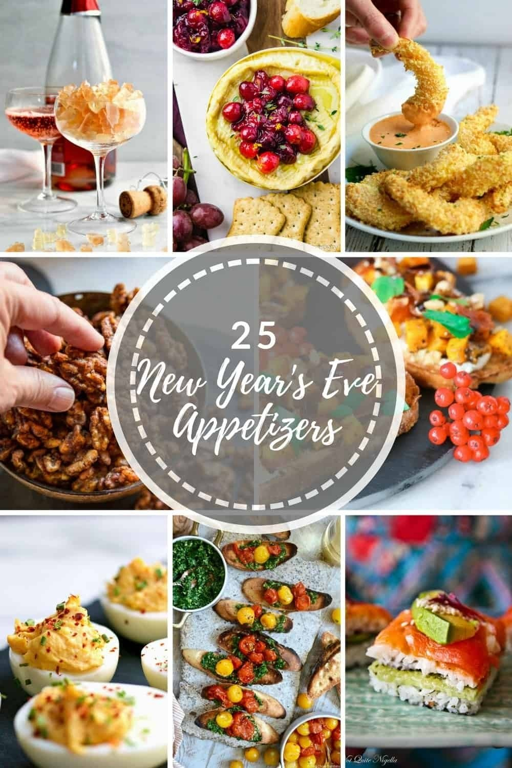 10 Cute New Years Eve Food Ideas 25 easy new years eve appetizer recipes pinch and swirl 2020