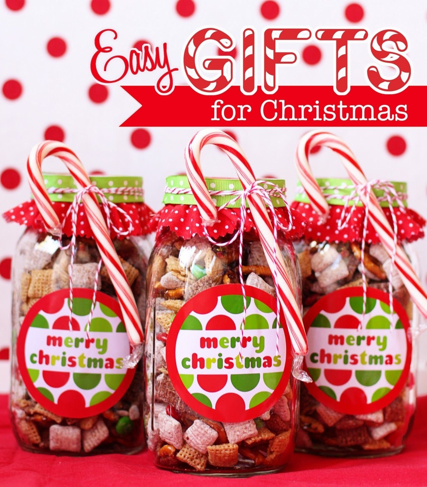 25 edible neighbor gifts | chex mix recipes, chex mix and merry