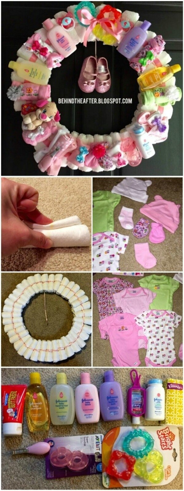 10 Pretty Diaper Ideas For Baby Shower Gift 25 enchantingly adorable baby shower gift ideas that will make you 1 2020