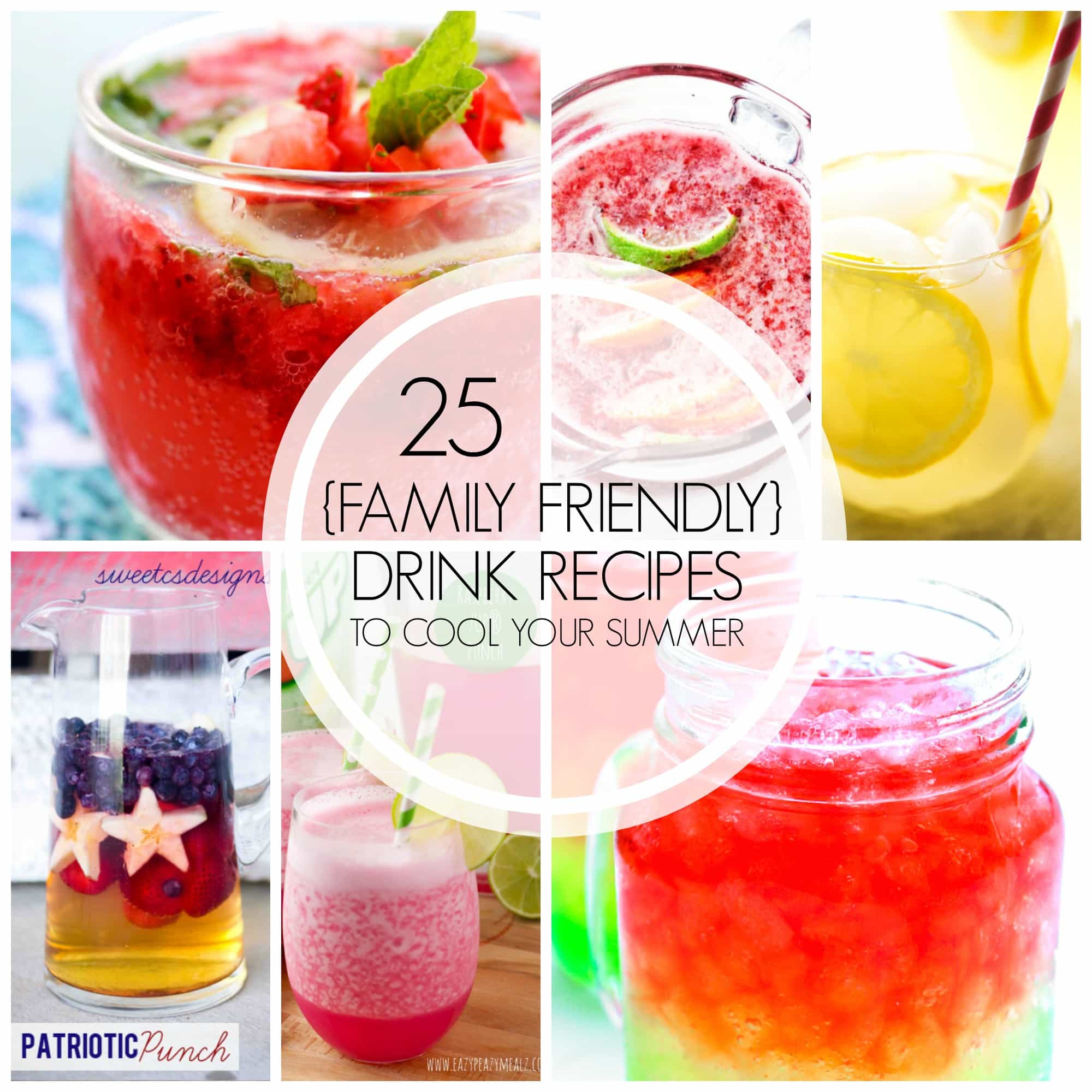 10 Lovely Cool Drink Ideas For Parties 25 family friendly drink recipes to cool your summer a dash of