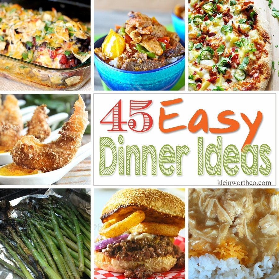 25 friday night dinner ideas - kleinworth & co