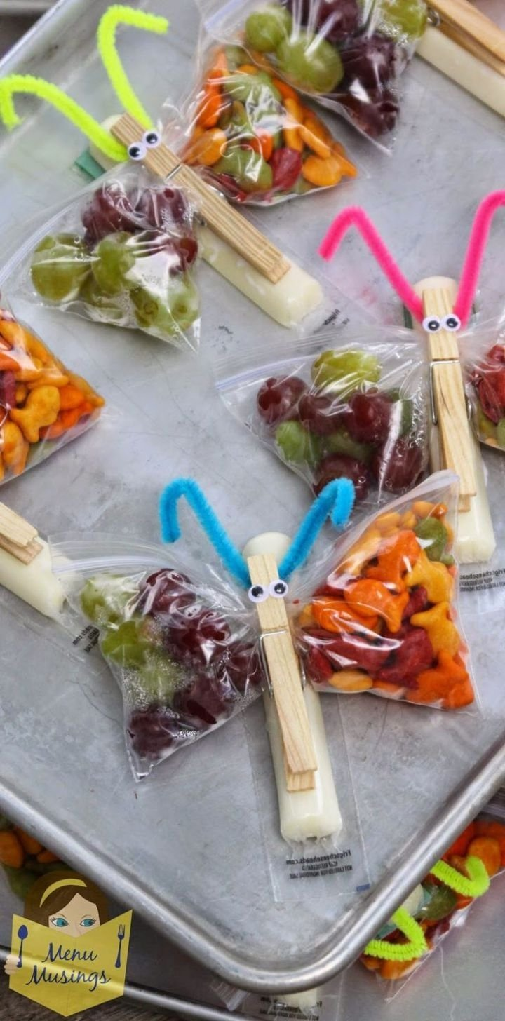 25 fun and healthy snacks for kids | classroom snacks, snack bags