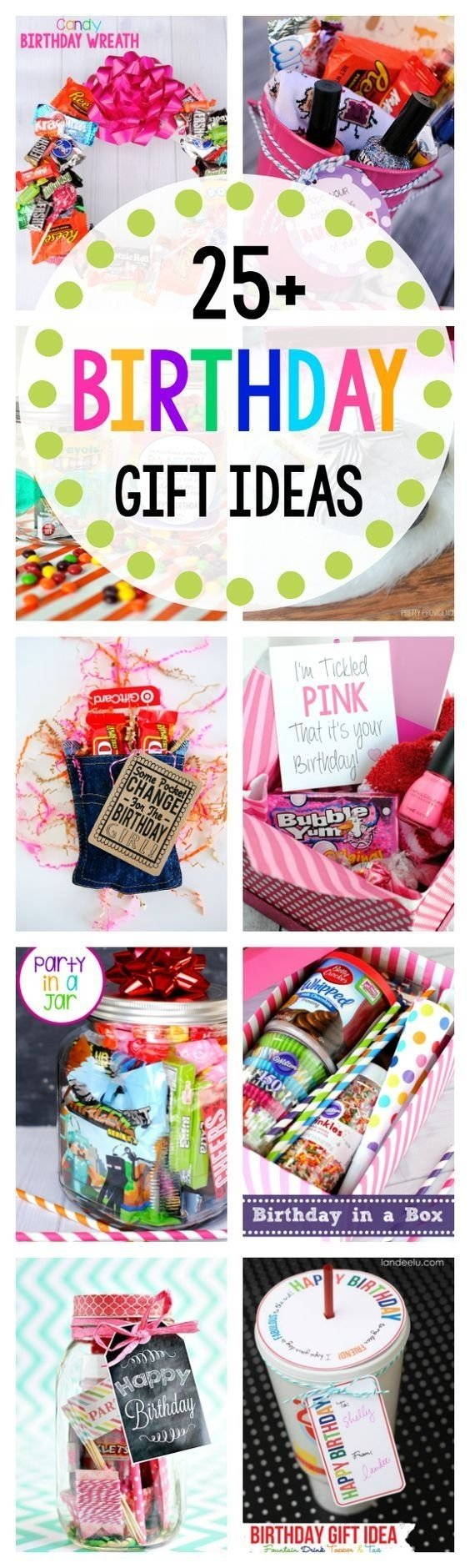 10 Great Birthday Gift Ideas For A Friend 25 Fun Gifts Friends Cadeau