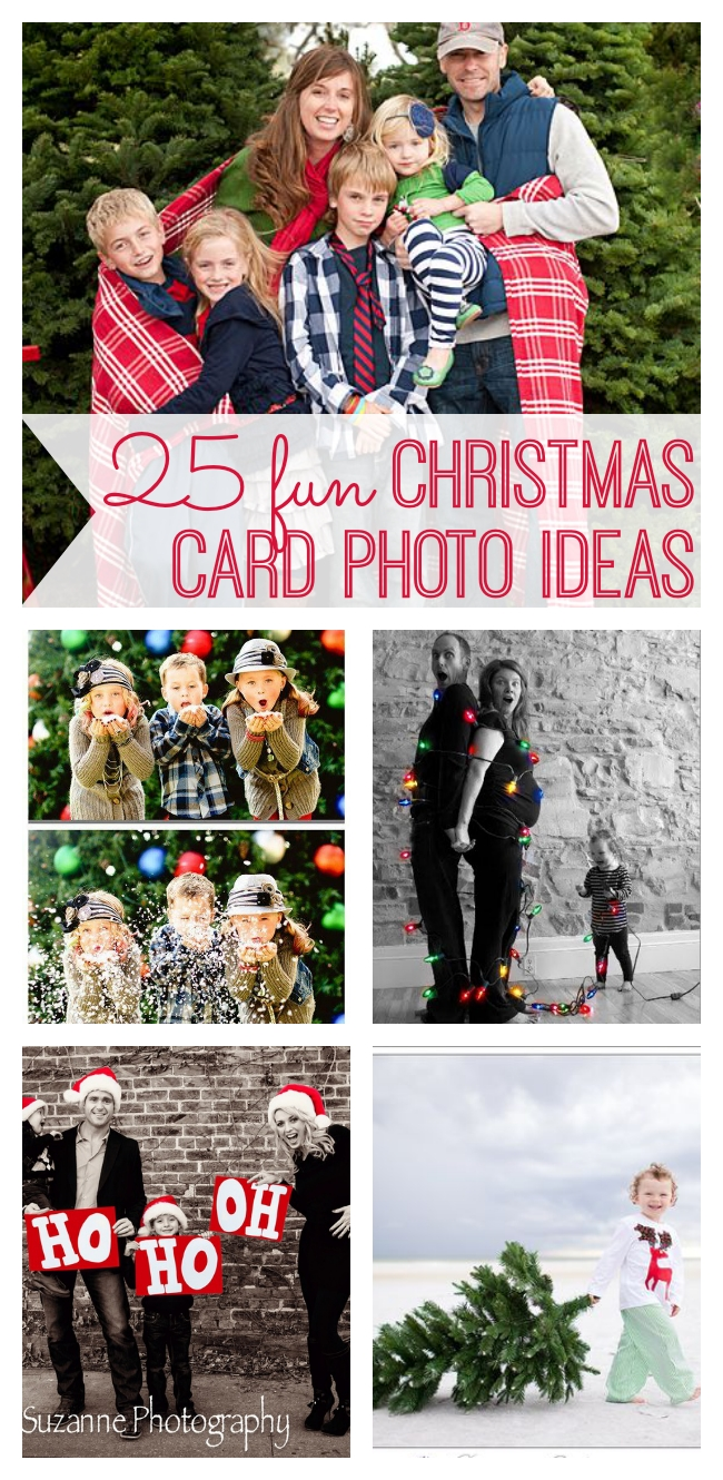 25 fun christmas card photo ideas - my life and kids