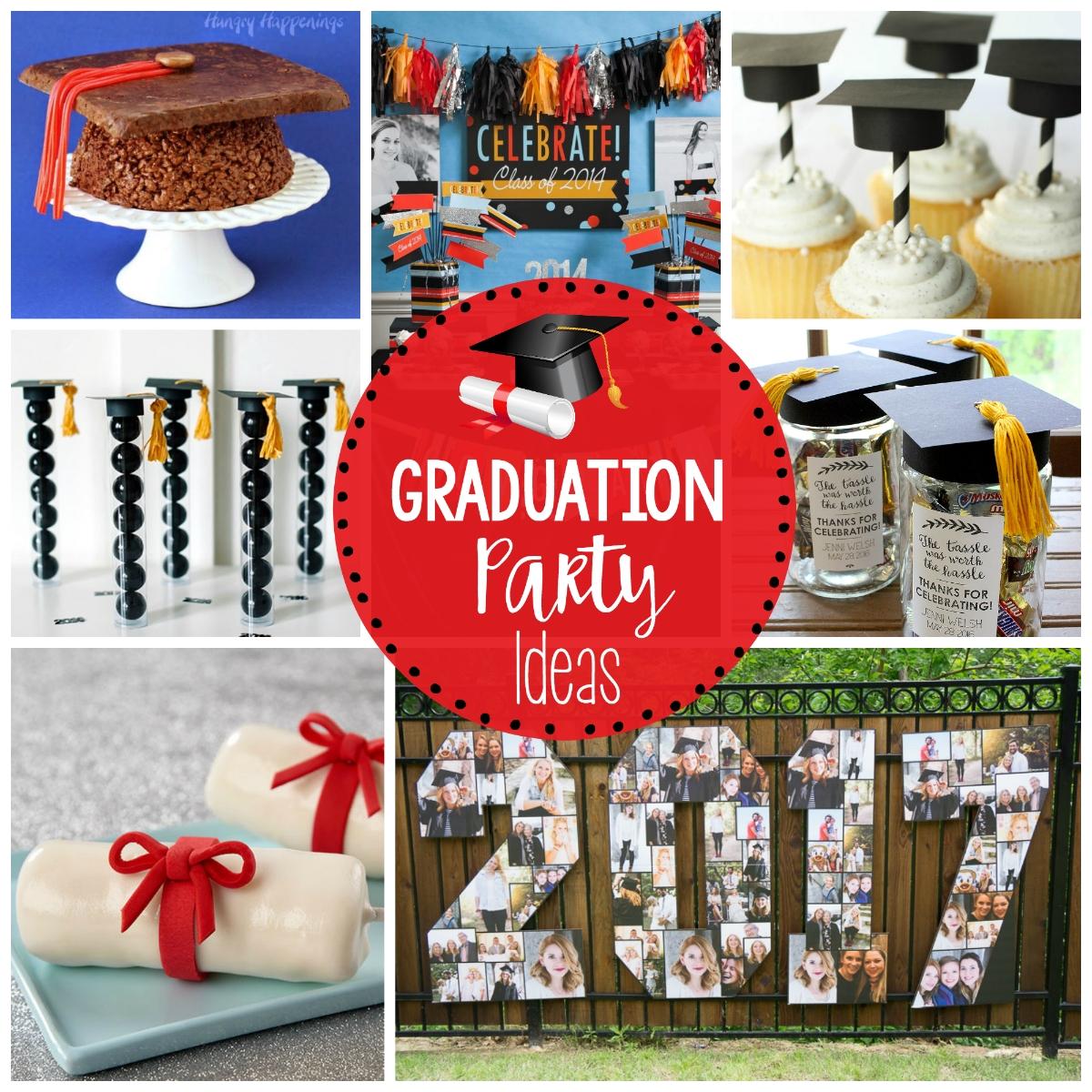 10 Lovable Fun Ideas For Graduation Parties 25 fun graduation party ideas fun squared 2020