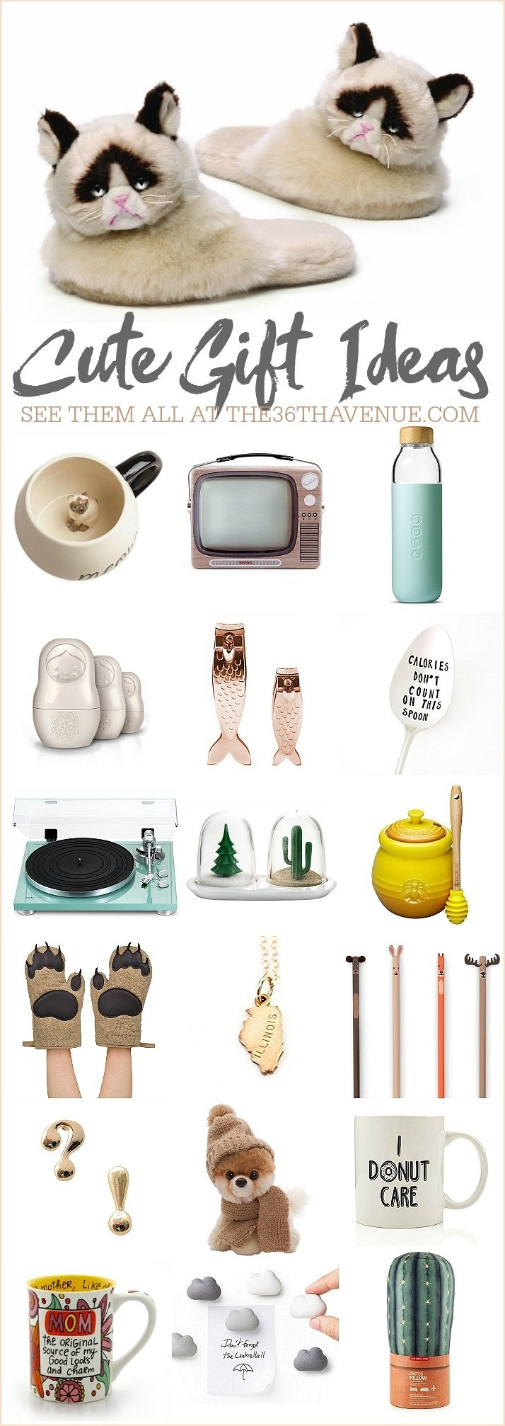 25 gift ideas - cute women gifts - the 36th avenue
